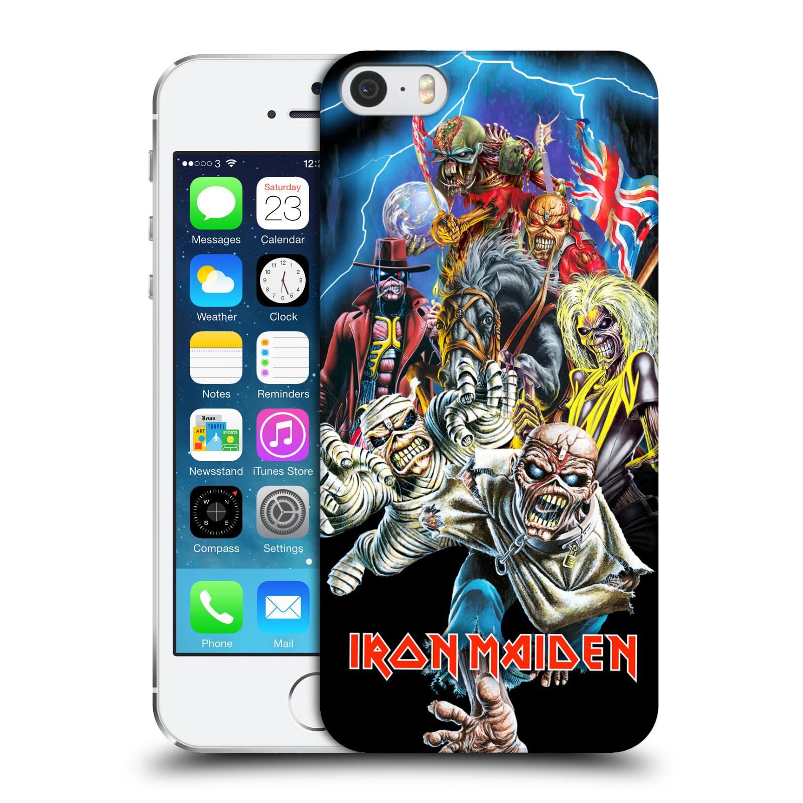 Plastové pouzdro na mobil Apple iPhone SE, 5 a 5S HEAD CASE - Iron Maiden - Best Of Beast (Plastový kryt či obal na mobilní telefon s licencovaným motivem Iron Maiden Apple iPhone SE, 5 a 5S)