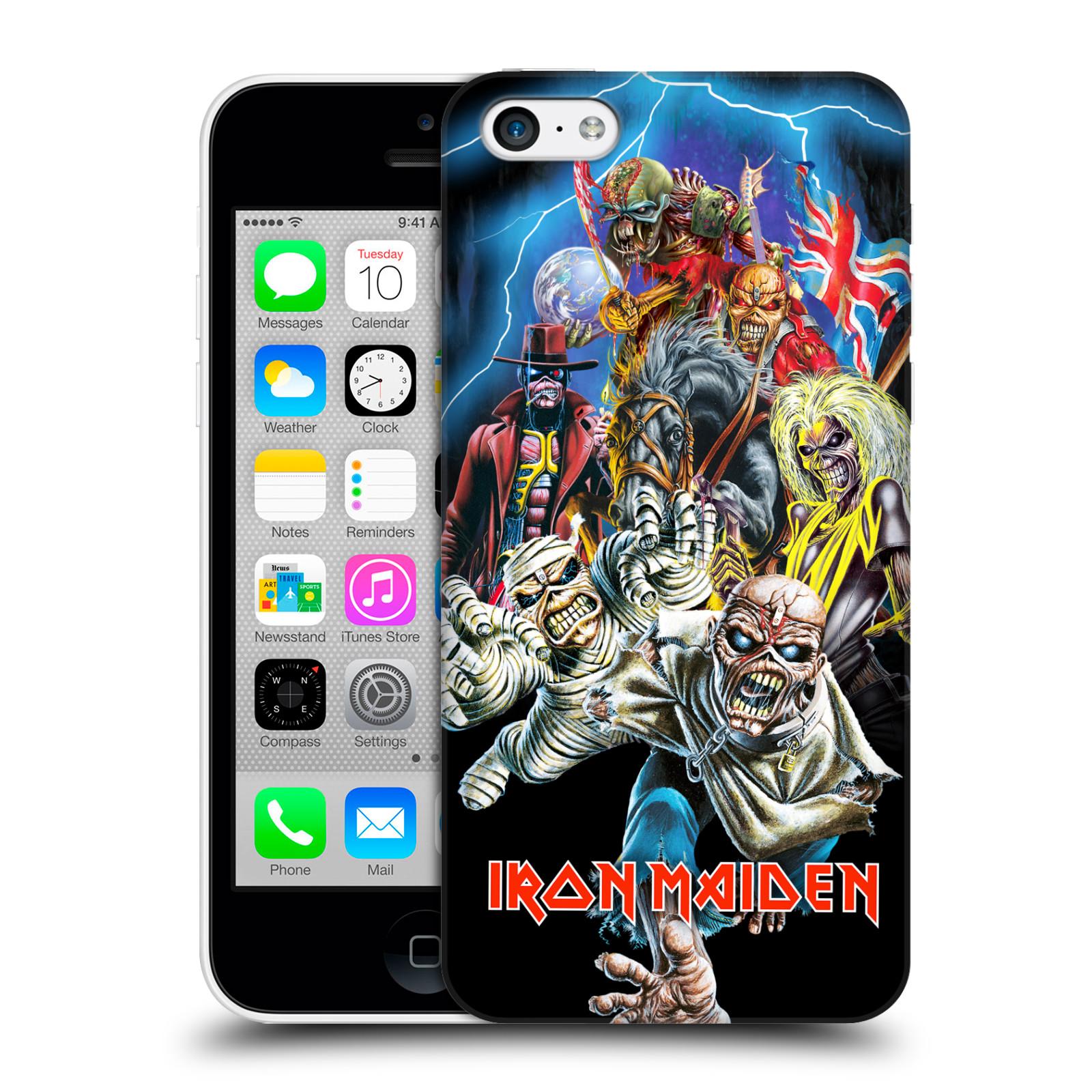 Plastové pouzdro na mobil Apple iPhone 5C HEAD CASE - Iron Maiden - Best Of Beast (Plastový kryt či obal na mobilní telefon s licencovaným motivem Iron Maiden Apple iPhone 5C)