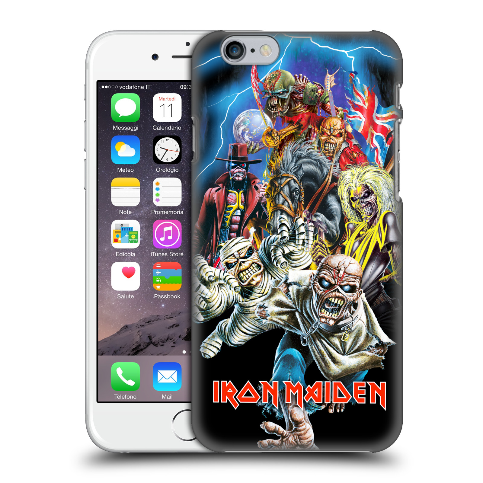Plastové pouzdro na mobil Apple iPhone 6 HEAD CASE - Iron Maiden - Best Of Beast (Plastový kryt či obal na mobilní telefon s licencovaným motivem Iron Maiden Apple iPhone 6)