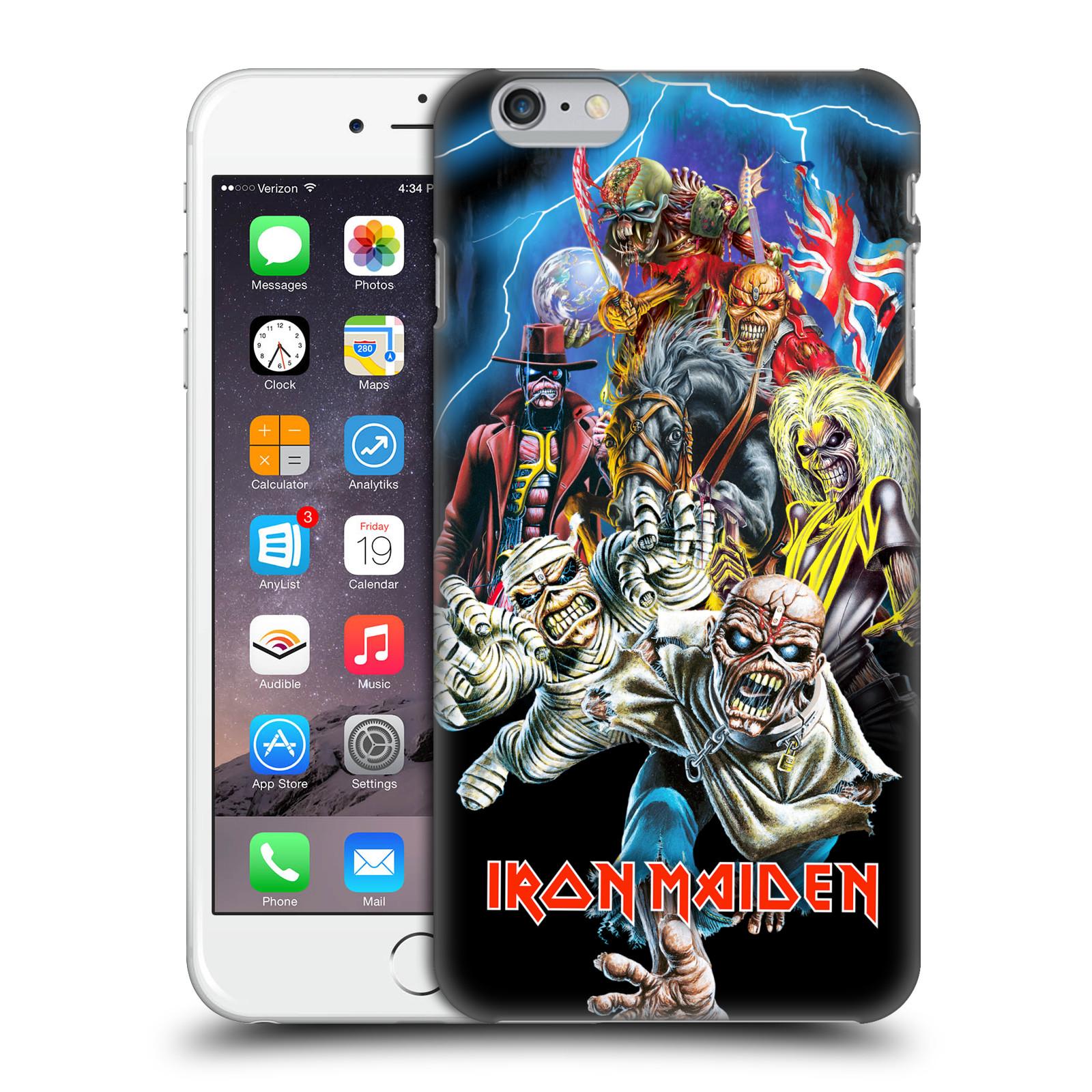 Plastové pouzdro na mobil Apple iPhone 6 Plus HEAD CASE - Iron Maiden - Best Of Beast (Plastový kryt či obal na mobilní telefon s licencovaným motivem Iron Maiden Apple iPhone 6 Plus)
