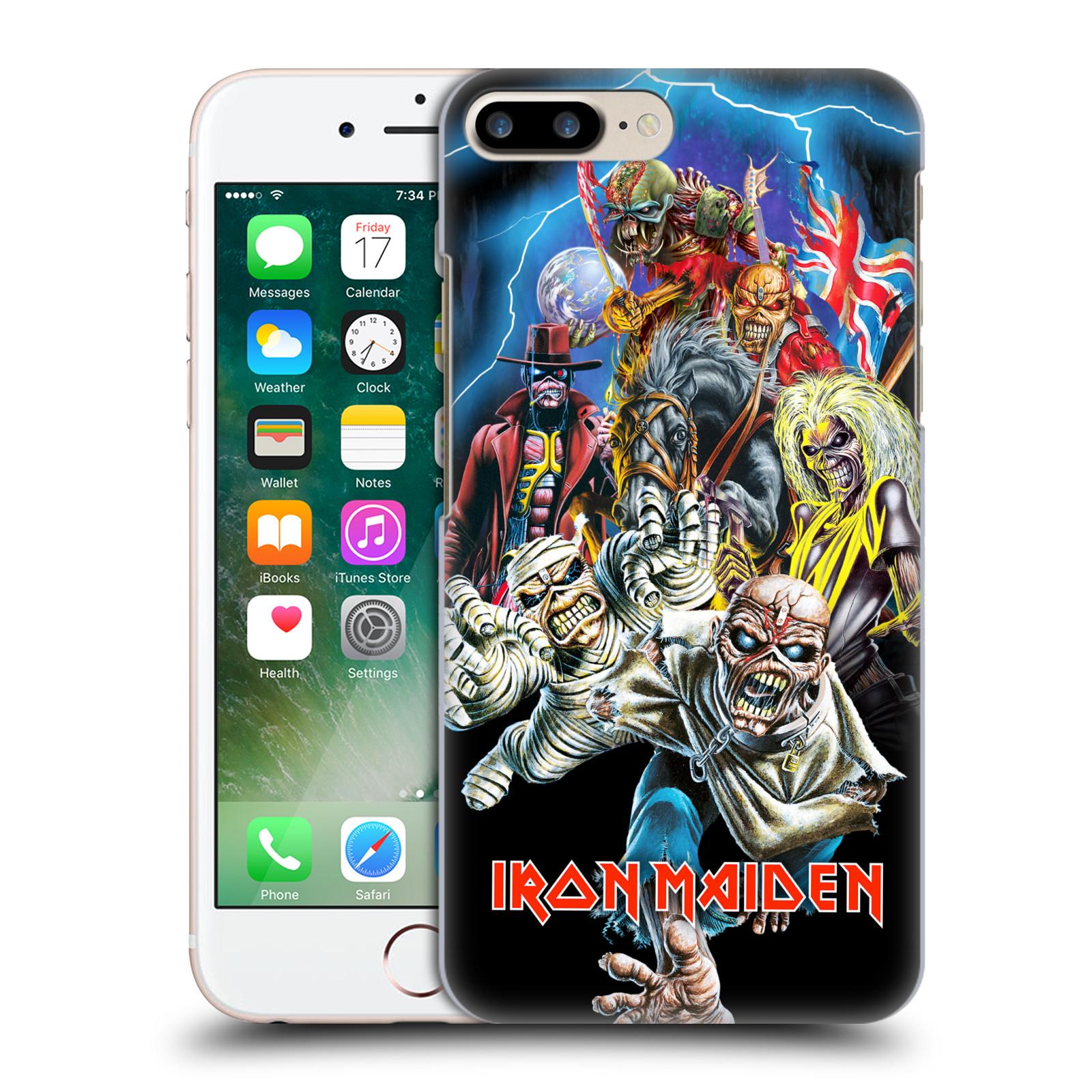 Plastové pouzdro na mobil Apple iPhone 7 Plus HEAD CASE - Iron Maiden - Best Of Beast (Plastový kryt či obal na mobilní telefon s licencovaným motivem Iron Maiden Apple iPhone 7 Plus)