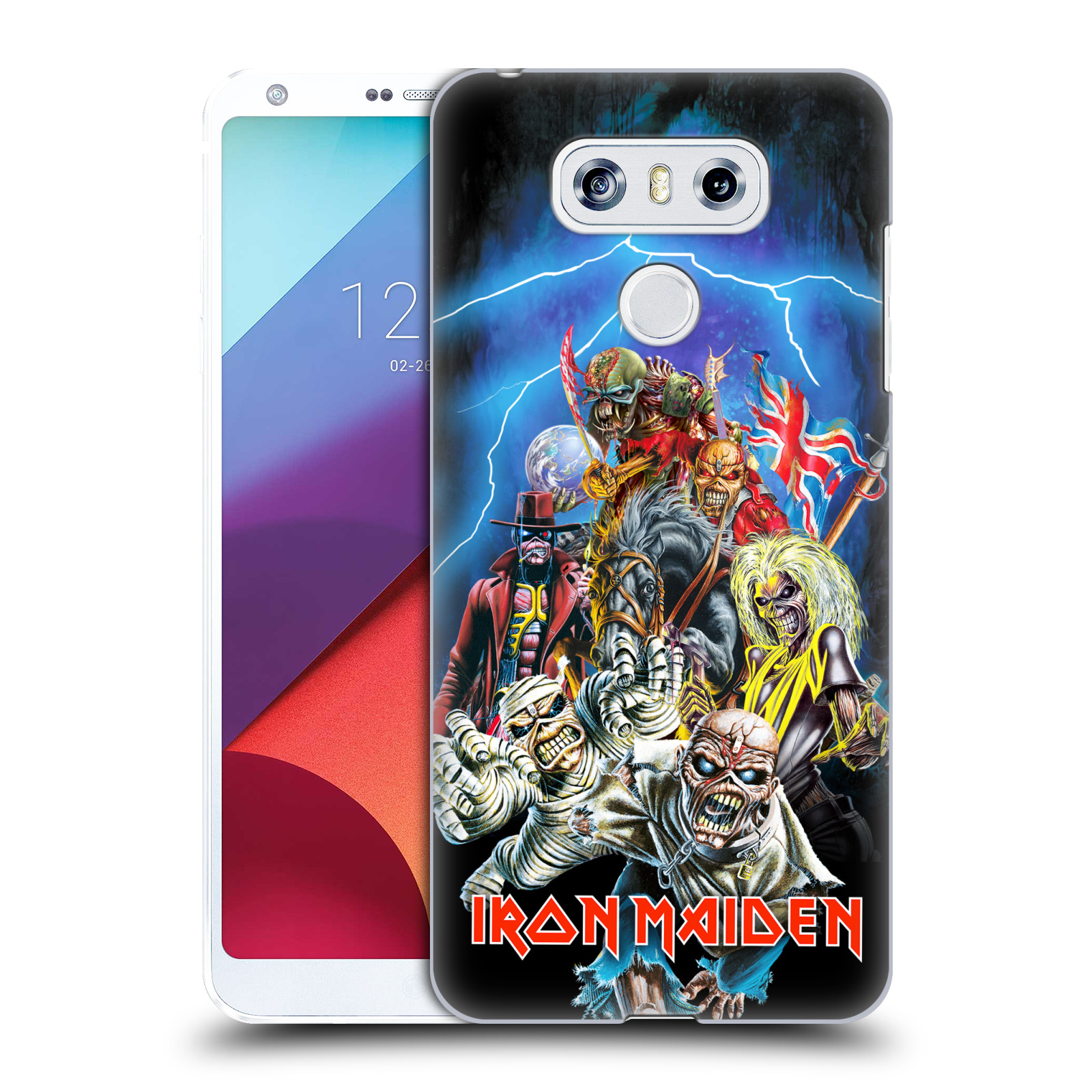 Plastové pouzdro na mobil LG G6 - Head Case - Iron Maiden - Best Of Beast