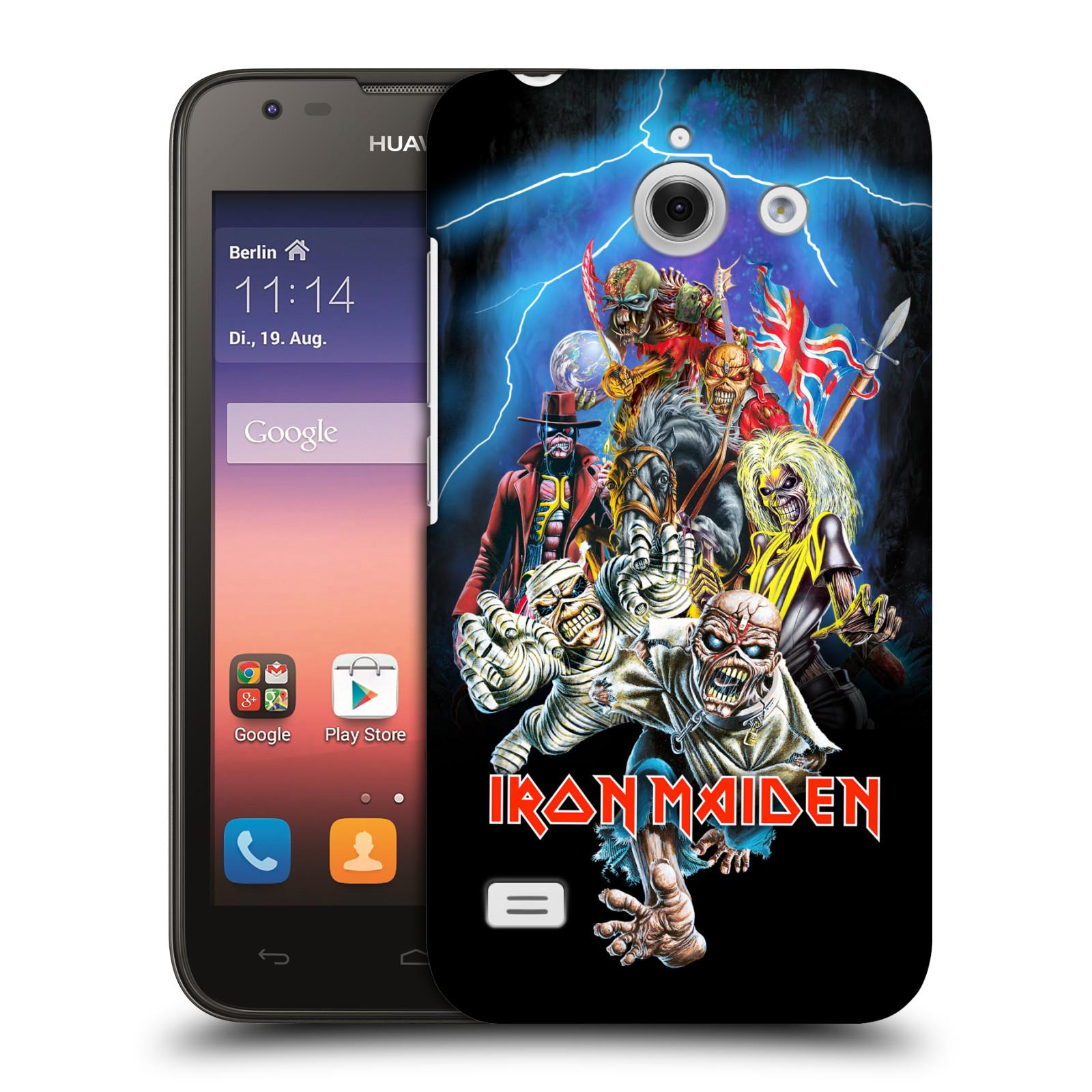 Plastové pouzdro na mobil Huawei Ascend Y550 HEAD CASE - Iron Maiden - Best Of Beast (Plastový kryt či obal na mobilní telefon s licencovaným motivem Iron Maiden Huawei Ascend Y550)