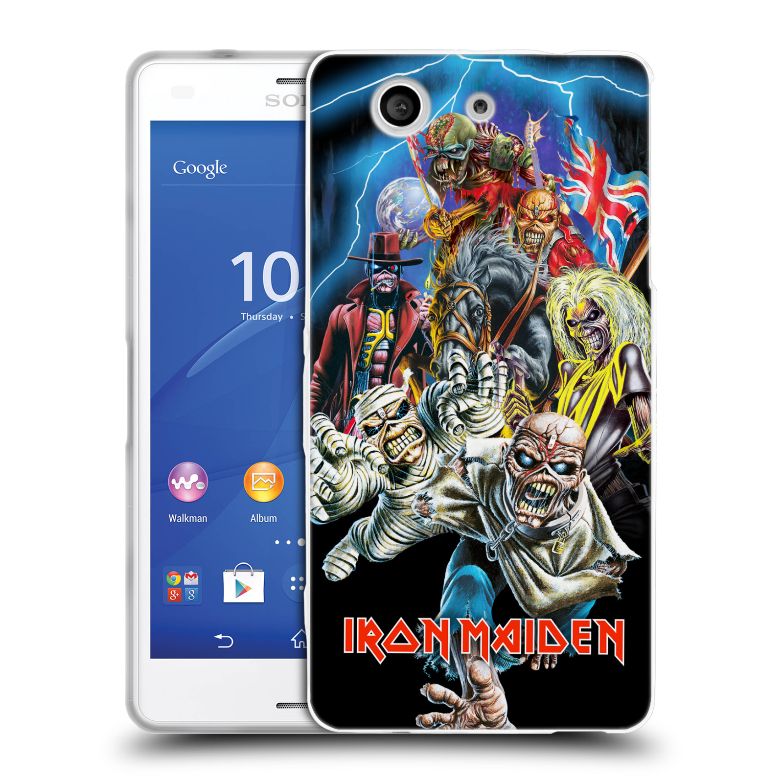 Silikonové pouzdro na mobil Sony Xperia Z3 Compact D5803 HEAD CASE - Iron Maiden - Best Of Beast