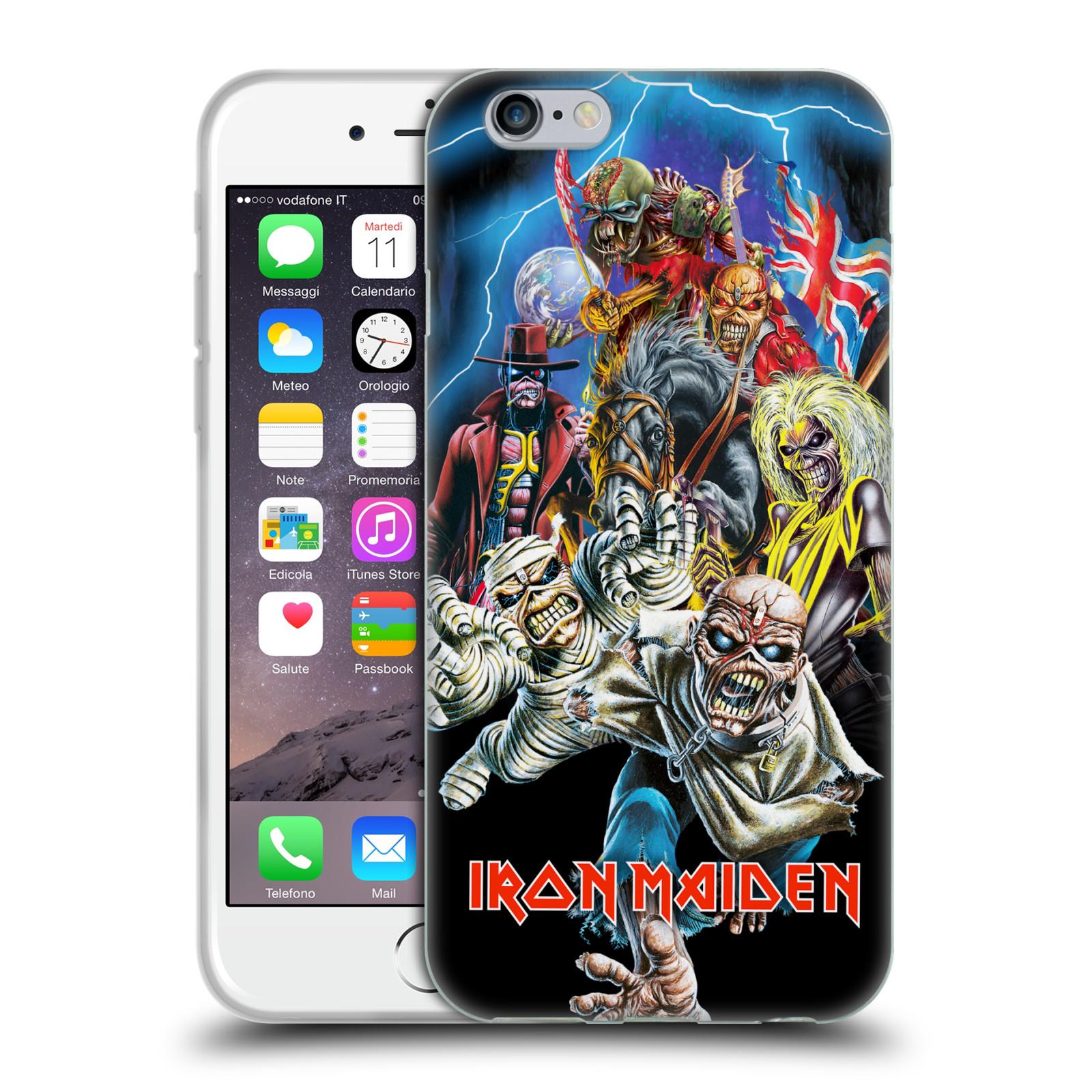 Silikonové pouzdro na mobil Apple iPhone 6 HEAD CASE - Iron Maiden - Best Of Beast (Silikonový kryt či obal na mobilní telefon s licencovaným motivem Iron Maiden Apple iPhone 6)