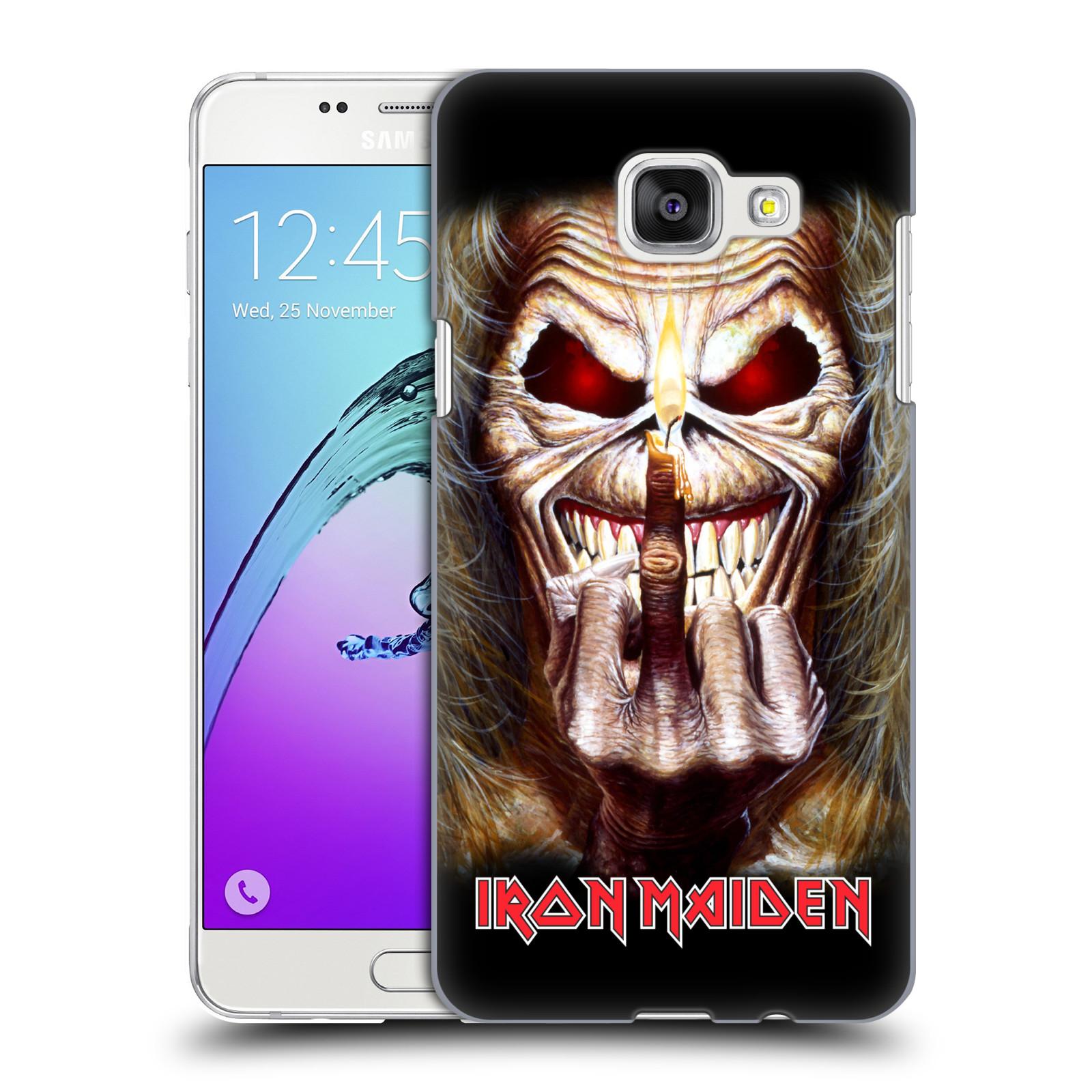 Plastové pouzdro na mobil Samsung Galaxy A5 (2016) HEAD CASE - Iron Maiden - Candle Finger