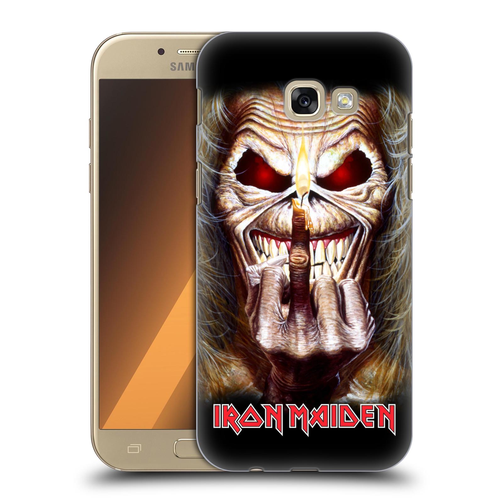 Plastové pouzdro na mobil Samsung Galaxy A5 (2017) HEAD CASE - Iron Maiden - Candle Finger