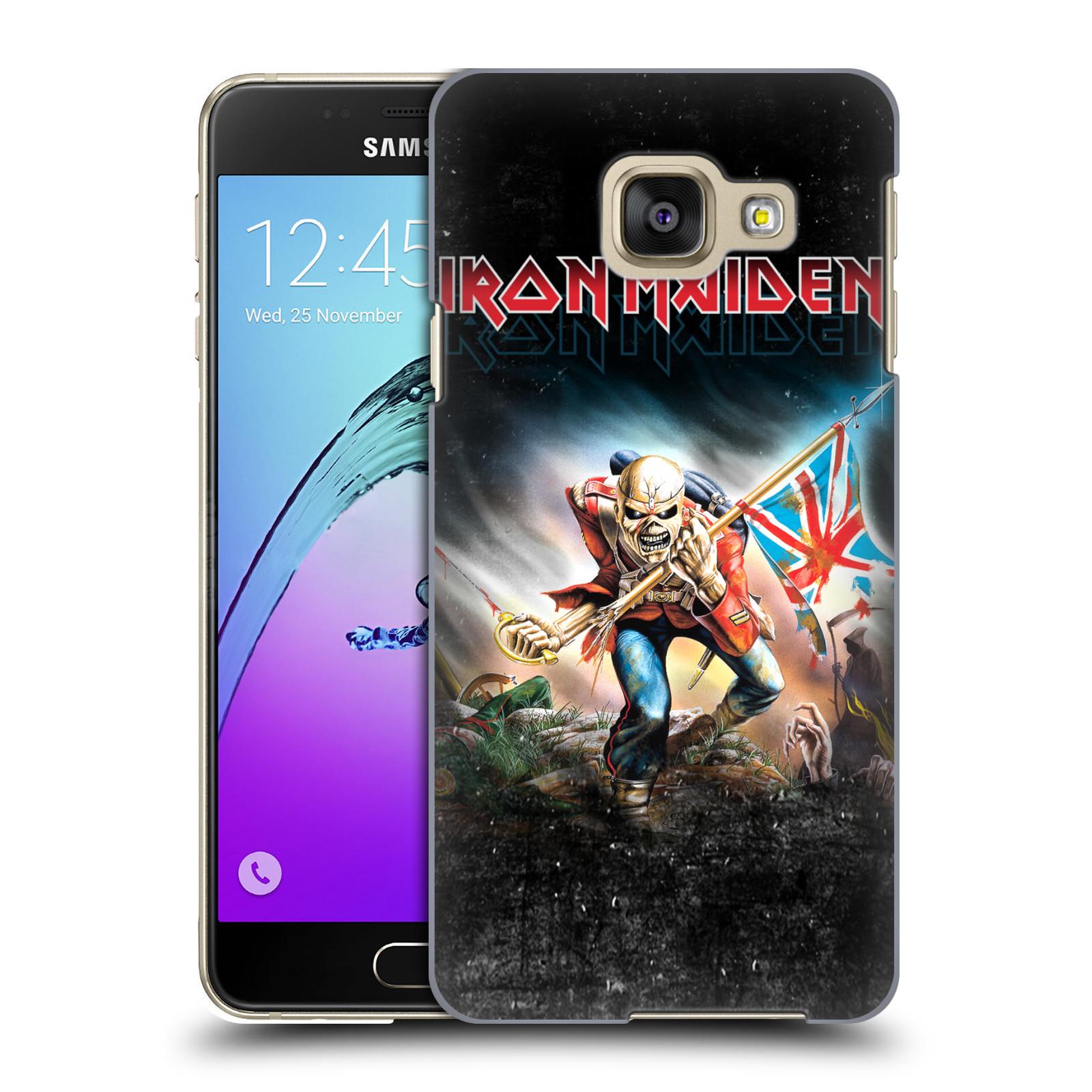 Plastové pouzdro na mobil Samsung Galaxy A3 (2016) HEAD CASE - Iron Maiden - Trooper 2016