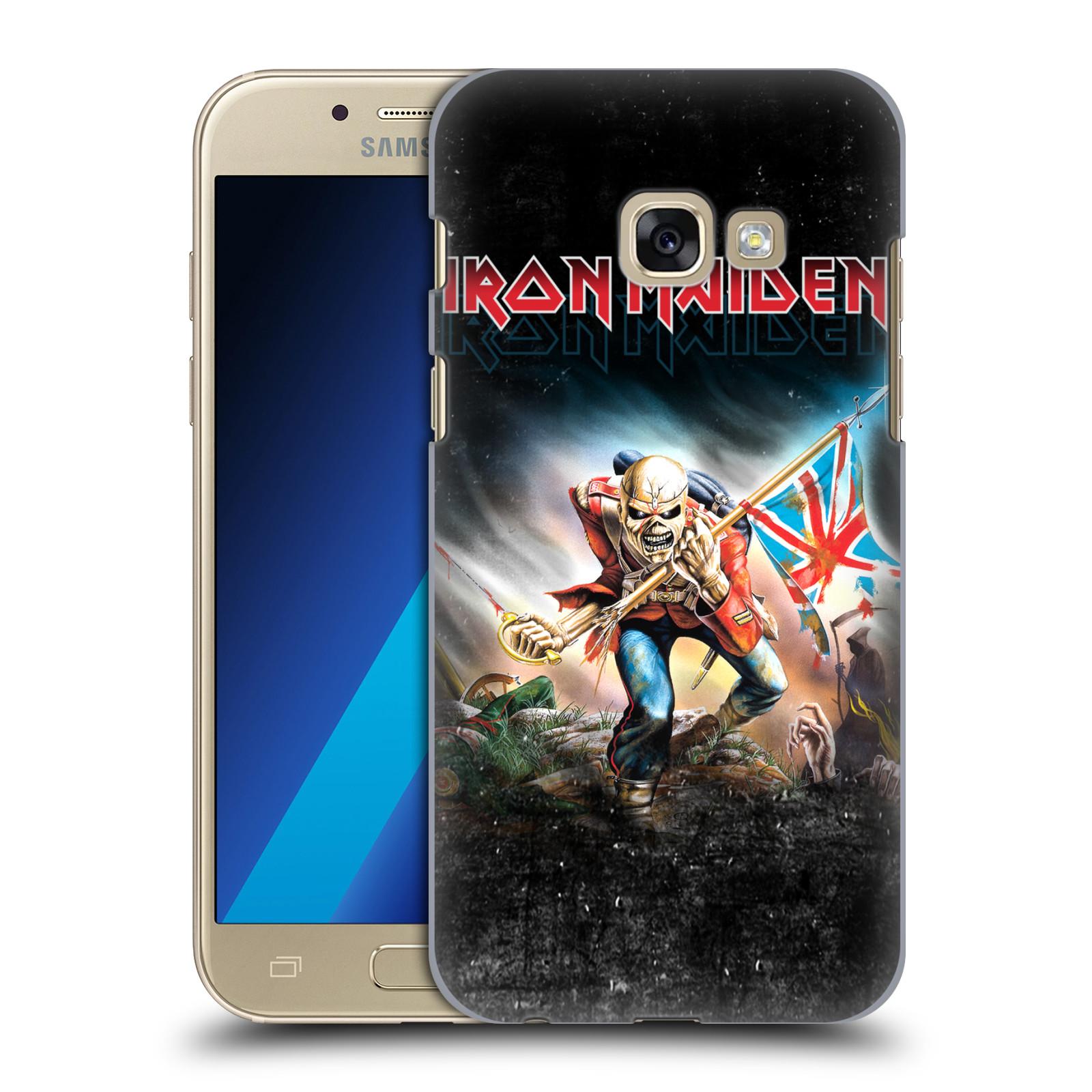 Plastové pouzdro na mobil Samsung Galaxy A3 (2017) HEAD CASE - Iron Maiden - Trooper 2016