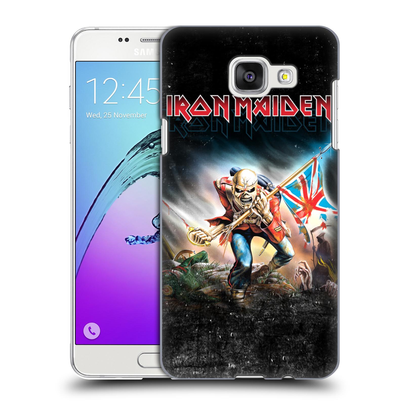 Plastové pouzdro na mobil Samsung Galaxy A5 (2016) HEAD CASE - Iron Maiden - Trooper 2016