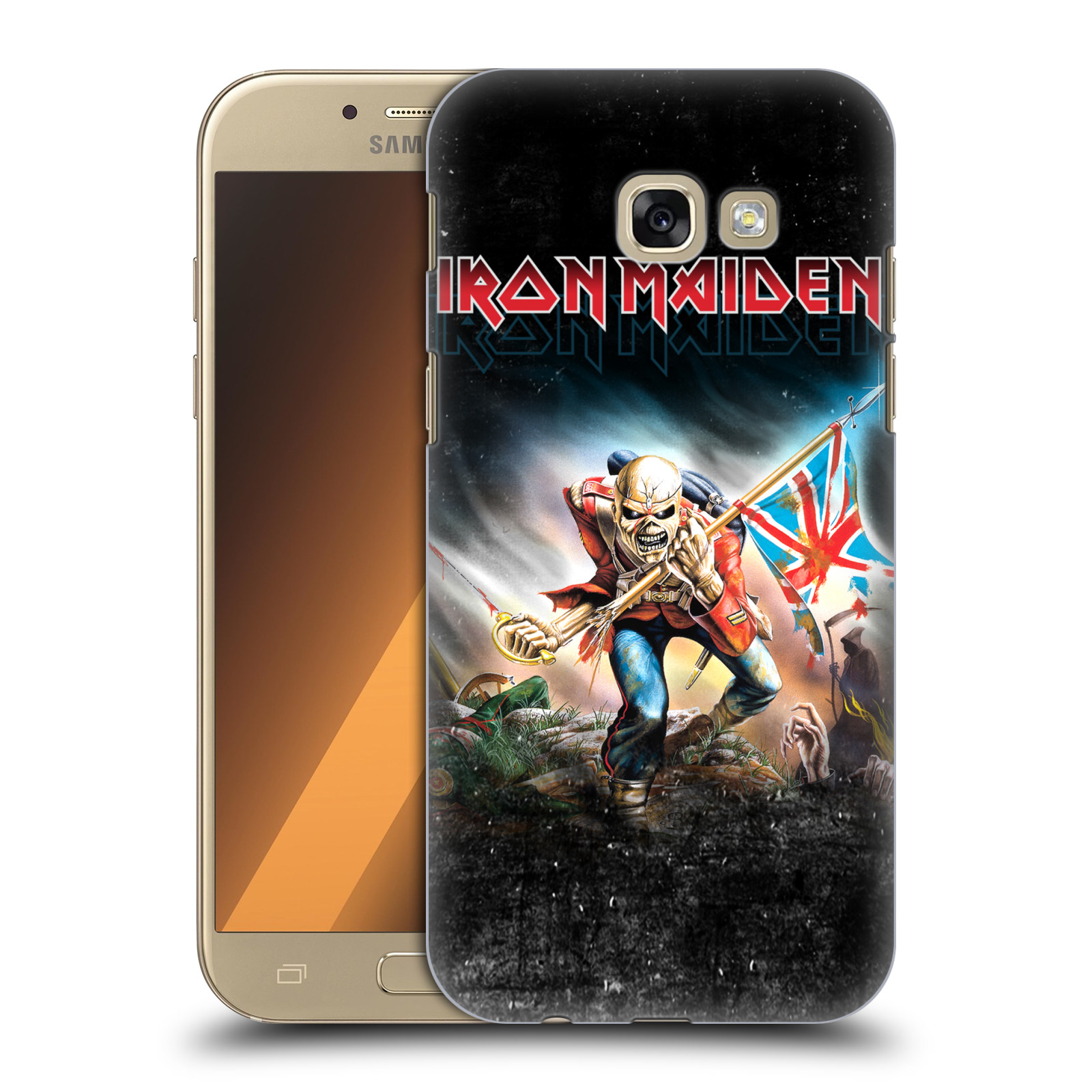 Plastové pouzdro na mobil Samsung Galaxy A5 (2017) HEAD CASE - Iron Maiden - Trooper 2016