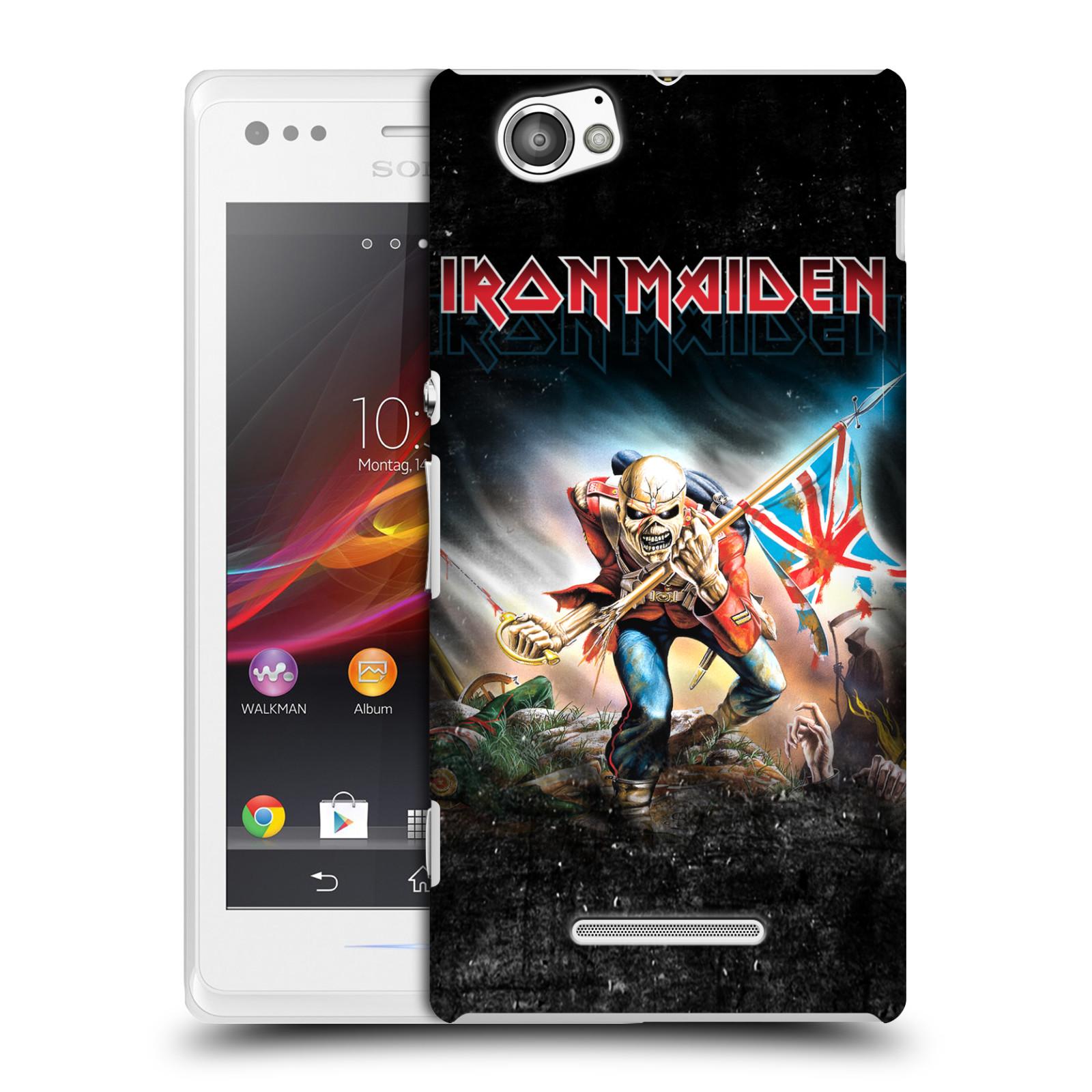 Plastové pouzdro na mobil Sony Xperia M C1905 HEAD CASE - Iron Maiden - Trooper 2016