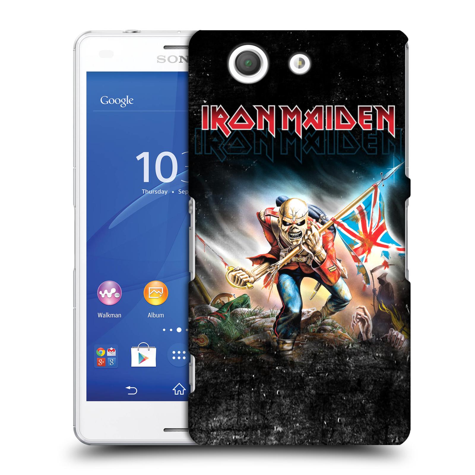 Plastové pouzdro na mobil Sony Xperia Z3 Compact D5803 HEAD CASE - Iron Maiden - Trooper 2016