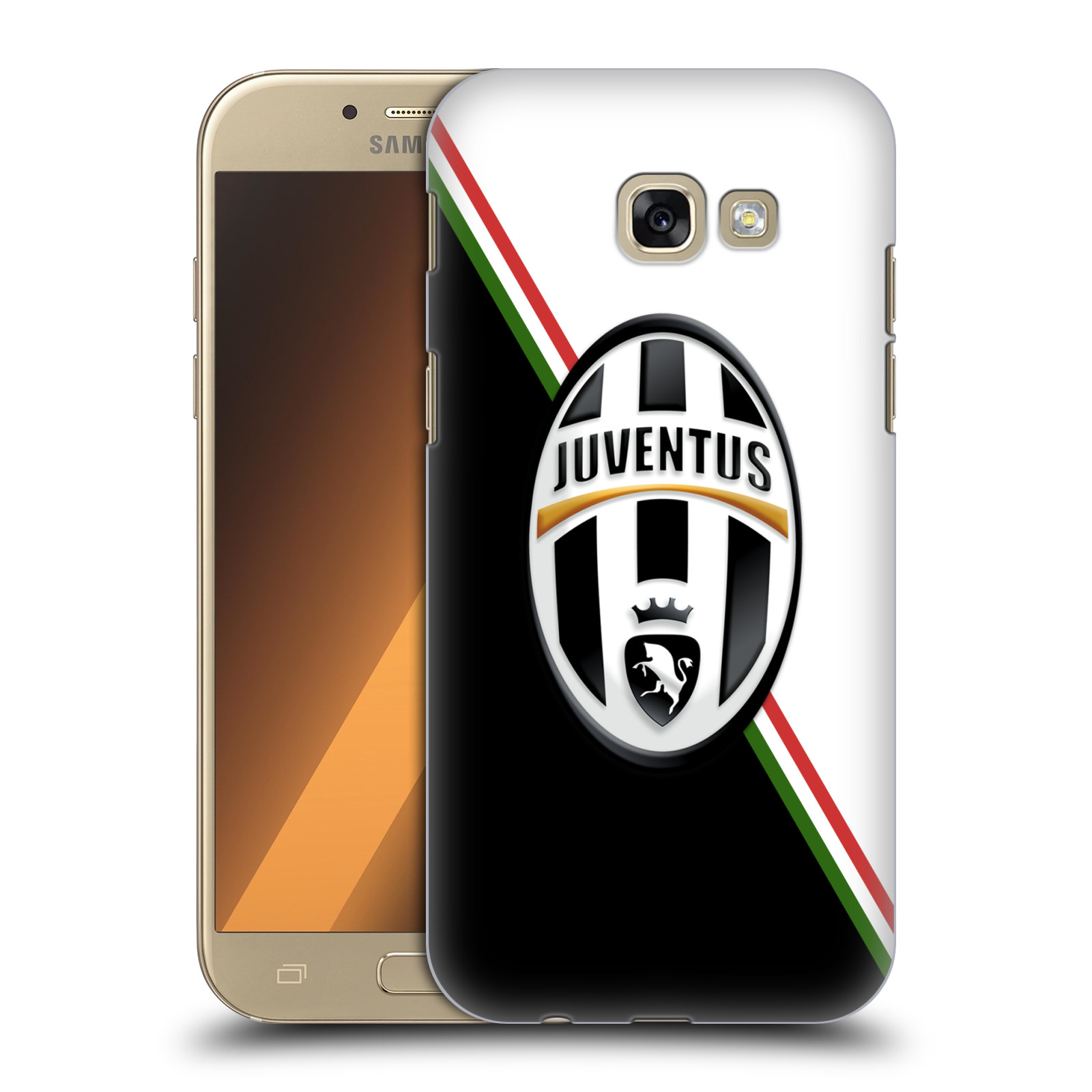 Plastové pouzdro na mobil Samsung Galaxy A5 (2017) HEAD CASE Juventus FC - Black and White