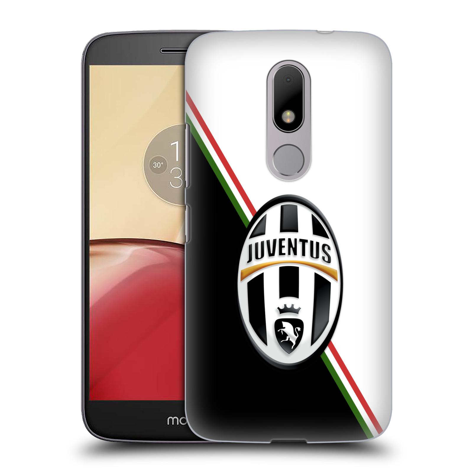 Plastové pouzdro na mobil Lenovo Moto M HEAD CASE Juventus FC - Black and White (Plastový kryt či obal na mobilní telefon Juventus FC Official pro Lenovo (Motorola) Moto M / Moto M Dual SIM)