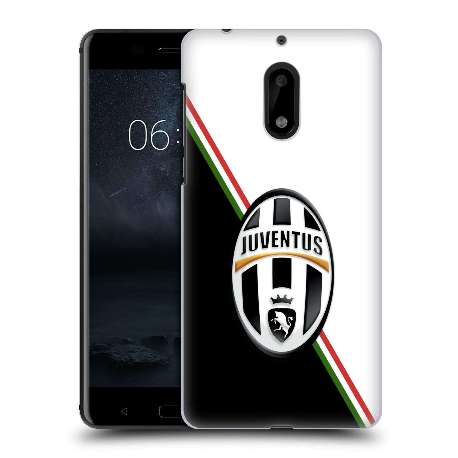 Plastové pouzdro na mobil Nokia 6 - Head Case Juventus FC - Black and White (Plastový kryt či obal na mobilní telefon Juventus FC Official pro Nokia 6 (Dual SIM))