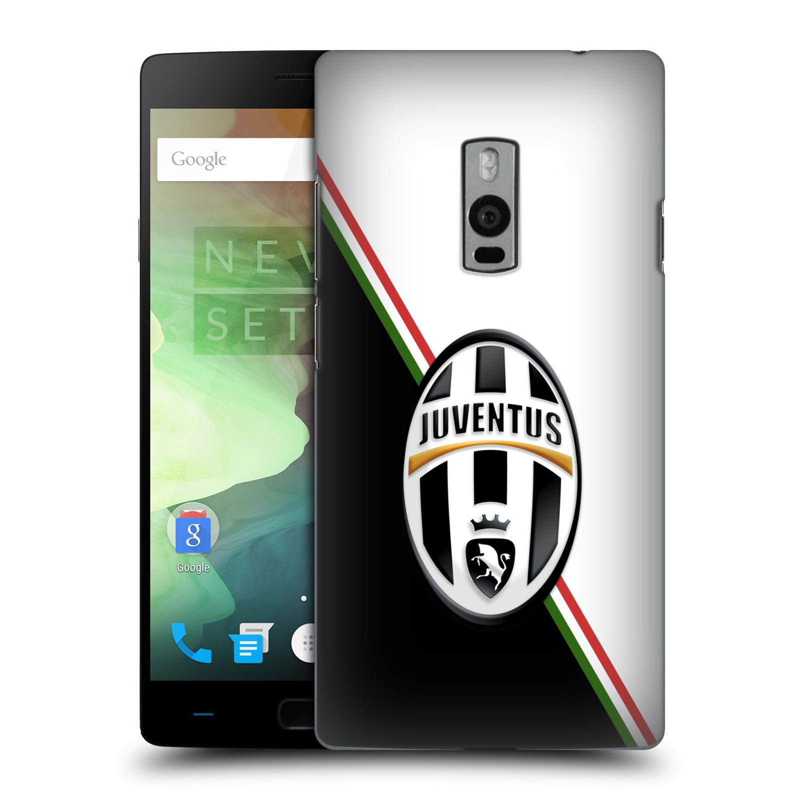 Plastové pouzdro na mobil OnePlus Two HEAD CASE Juventus FC - Black and White (Plastový kryt či obal na mobilní telefon Juventus FC Official pro OnePlus Two)