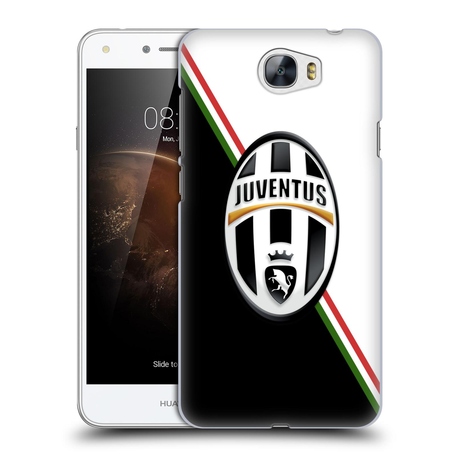 Plastové pouzdro na mobil Huawei Y5 II HEAD CASE Juventus FC - Black and White