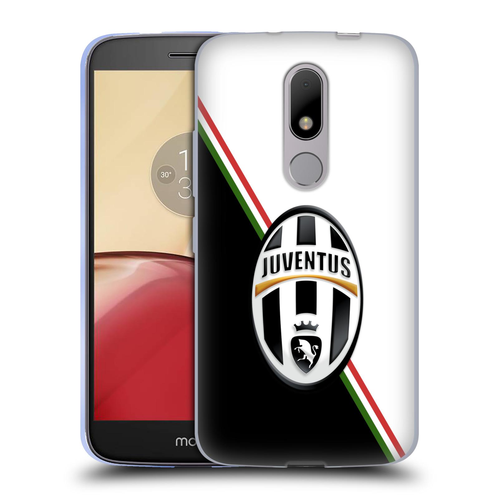 Silikonové pouzdro na mobil Lenovo Moto M - Head Case Juventus FC - Black and White (Silikonový kryt či obal na mobilní telefon Juventus FC Official pro Lenovo Moto M (Dual Sim))