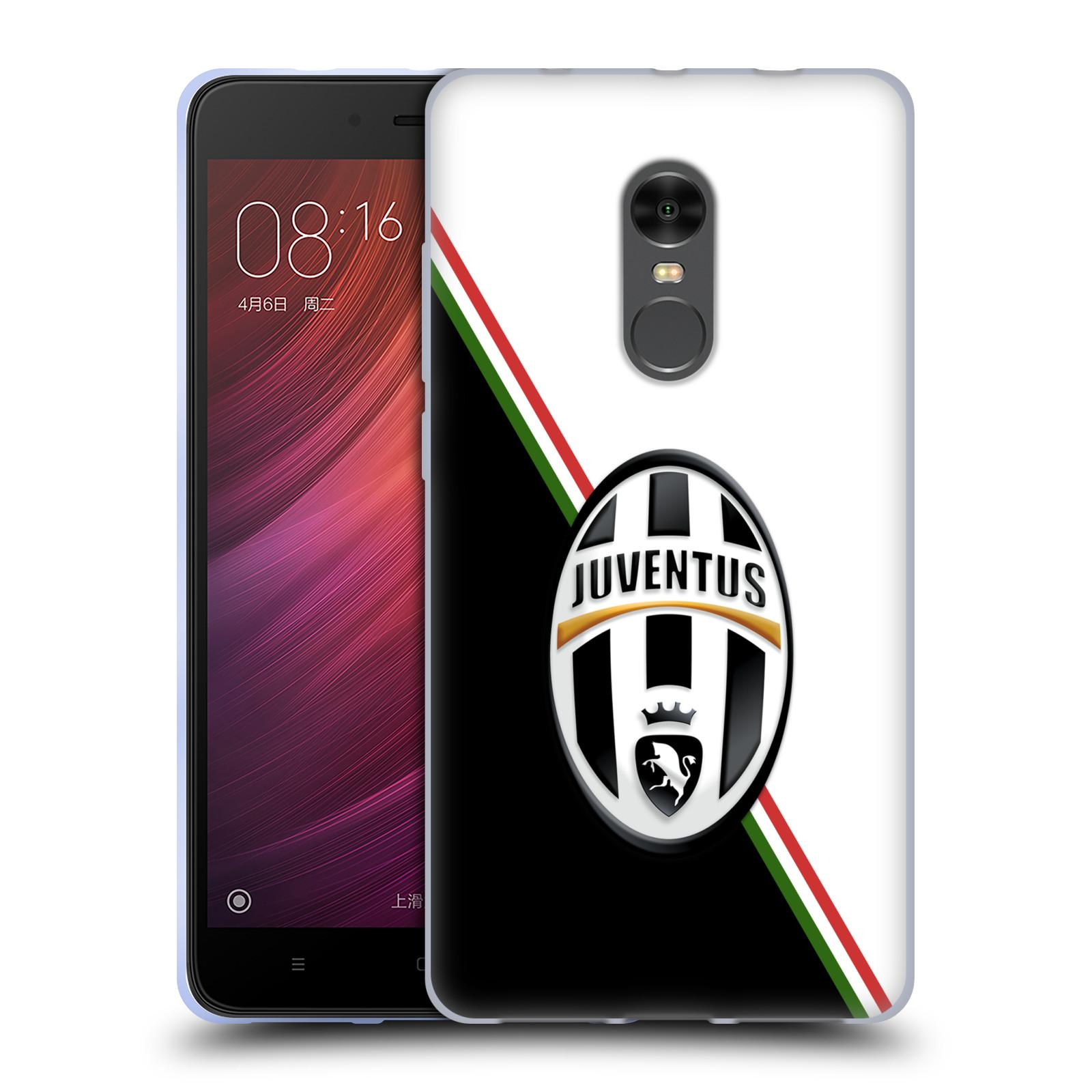 Silikonové pouzdro na mobil Xiaomi Redmi Note 4 - Head Case - Juventus FC - Black and White - poškozená krabička