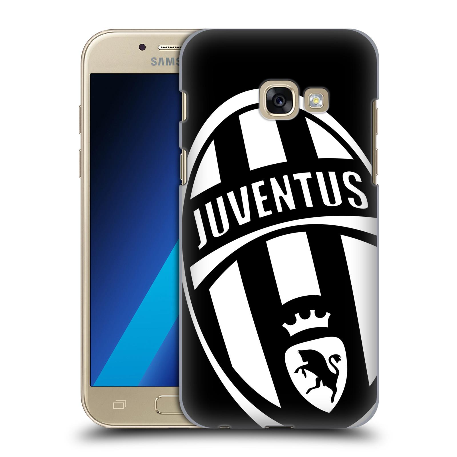 Plastové pouzdro na mobil Samsung Galaxy A3 (2017) HEAD CASE Juventus FC - Velké Logo