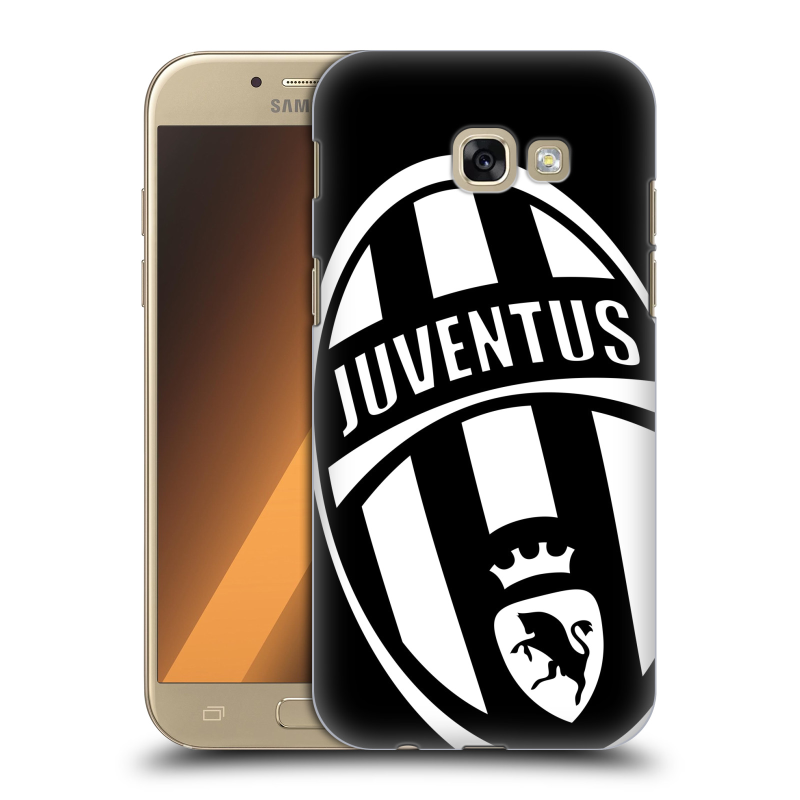 Plastové pouzdro na mobil Samsung Galaxy A5 (2017) HEAD CASE Juventus FC - Velké Logo