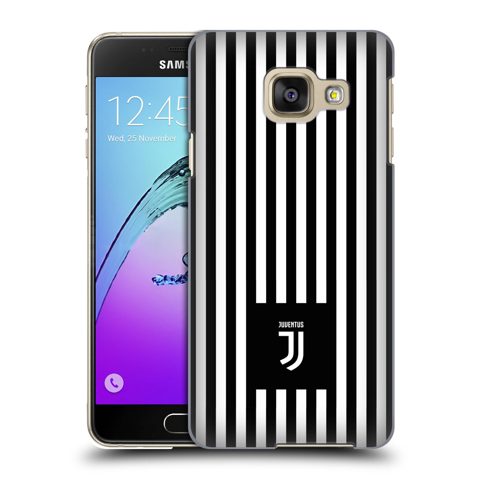 Plastové pouzdro na mobil Samsung Galaxy A3 (2016) - Head Case - Juventus FC - Nové logo - Pruhy