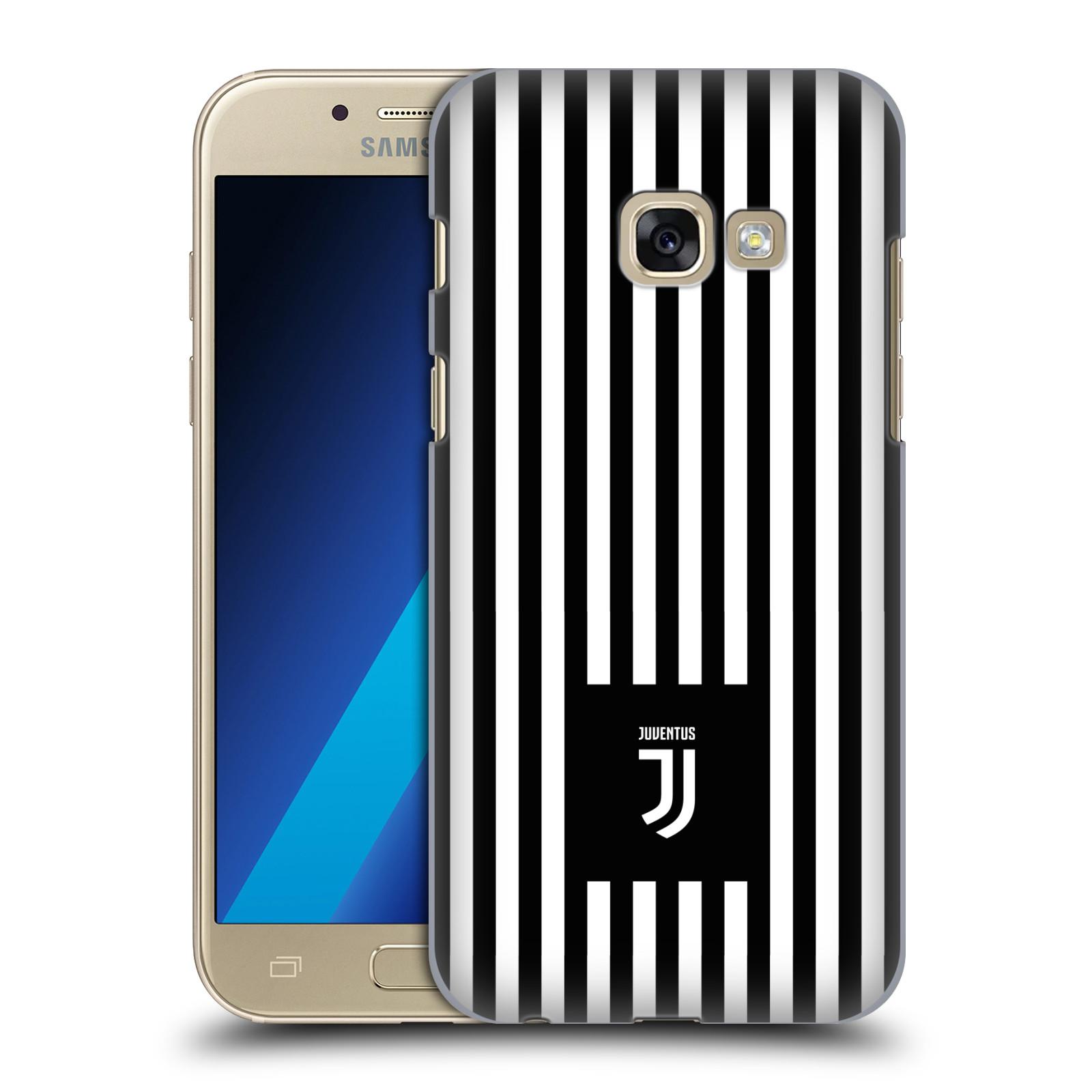 Plastové pouzdro na mobil Samsung Galaxy A3 (2017) - Head Case - Juventus FC - Nové logo - Pruhy