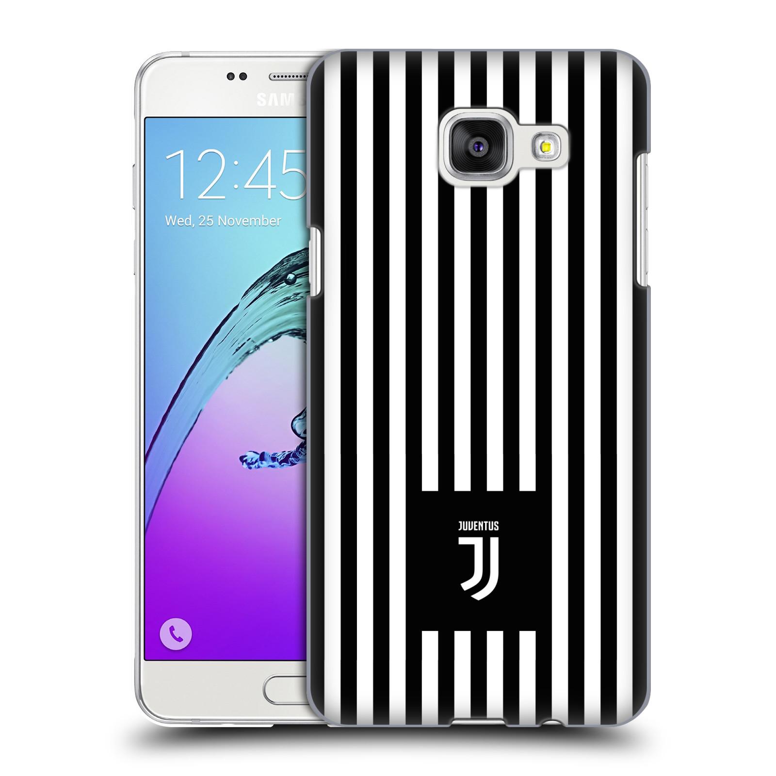 Plastové pouzdro na mobil Samsung Galaxy A5 (2016) - Head Case - Juventus FC - Nové logo - Pruhy