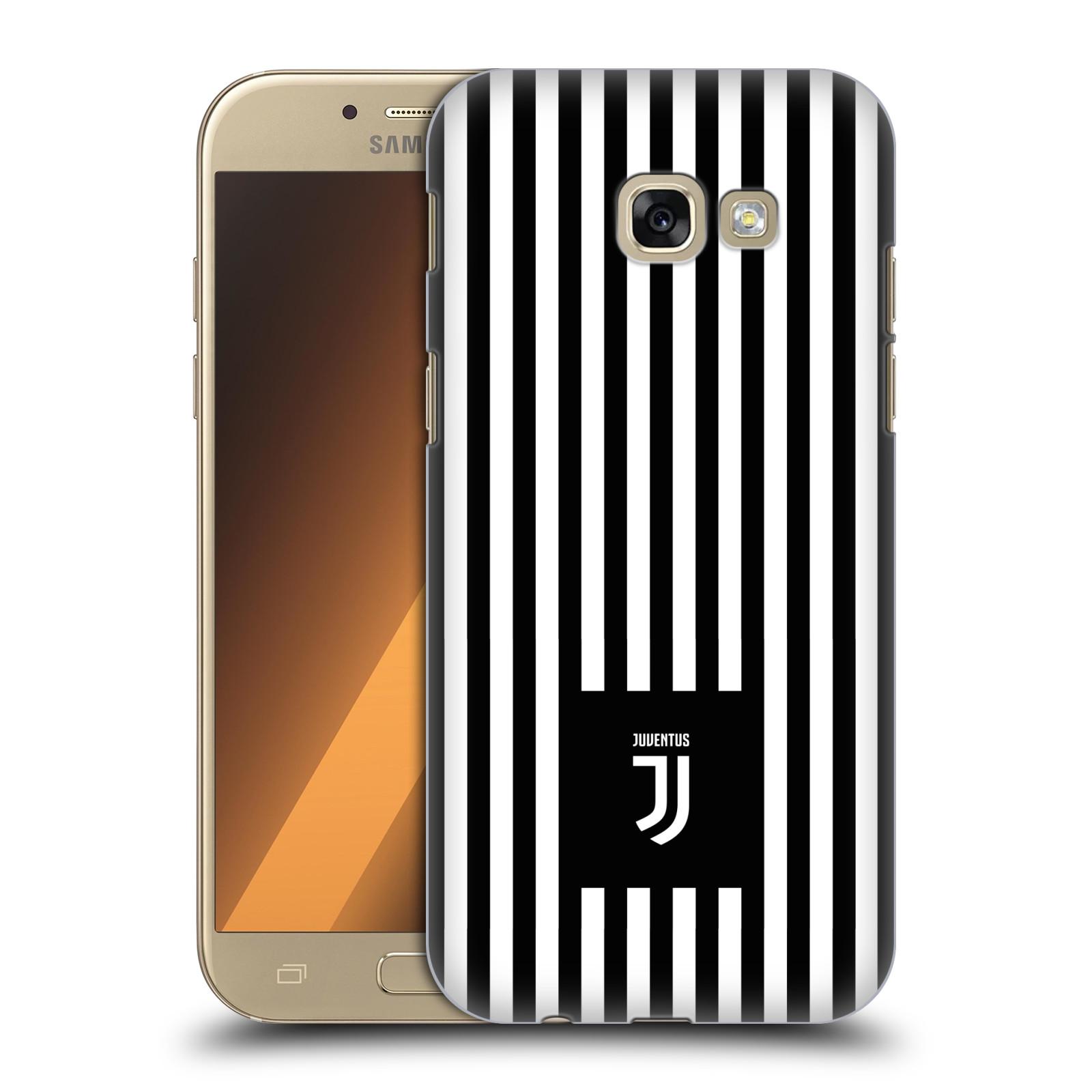 Plastové pouzdro na mobil Samsung Galaxy A5 (2017) - Head Case - Juventus FC - Nové logo - Pruhy