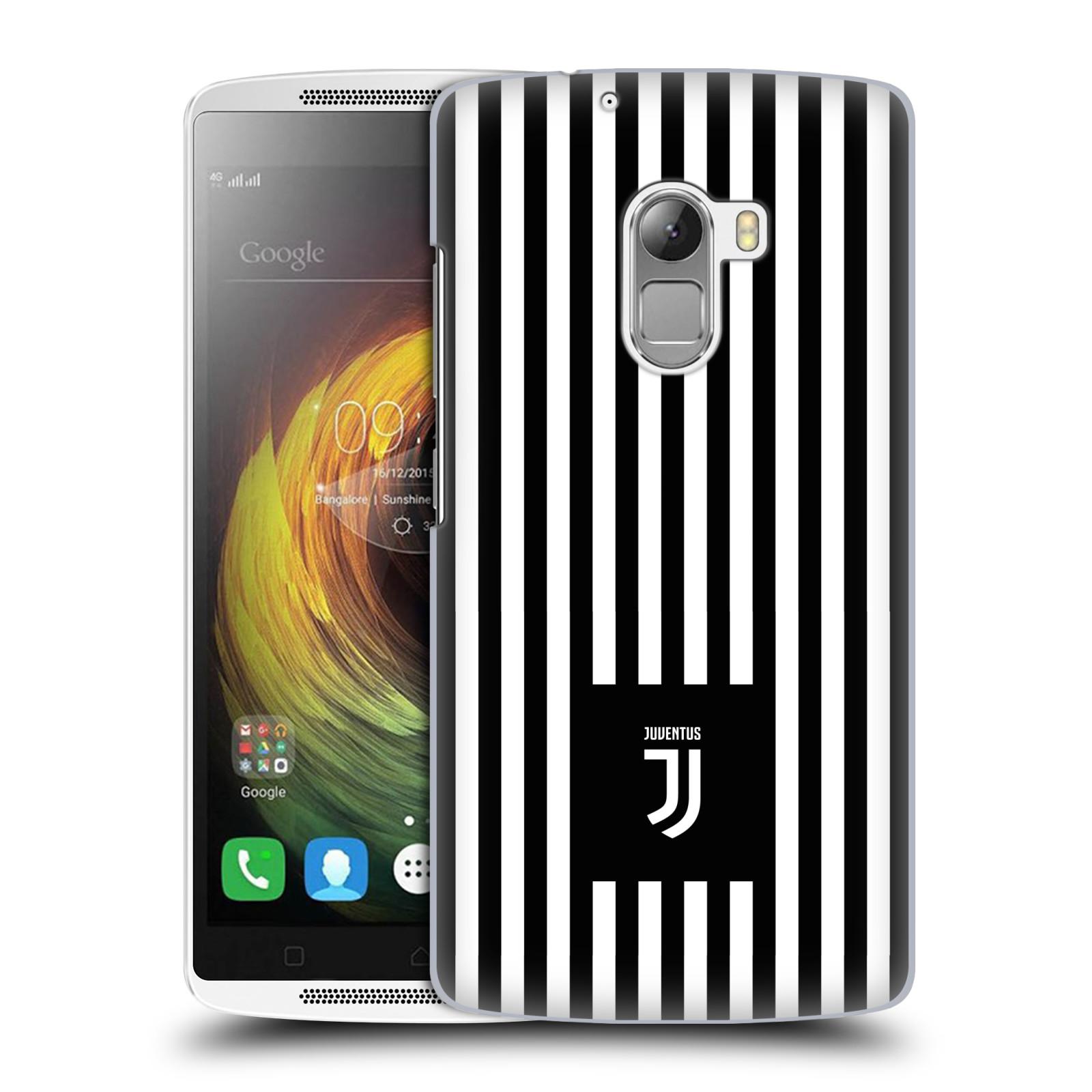 Plastové pouzdro na mobil Lenovo A7010 - Head Case - Juventus FC - Nové logo - Pruhy
