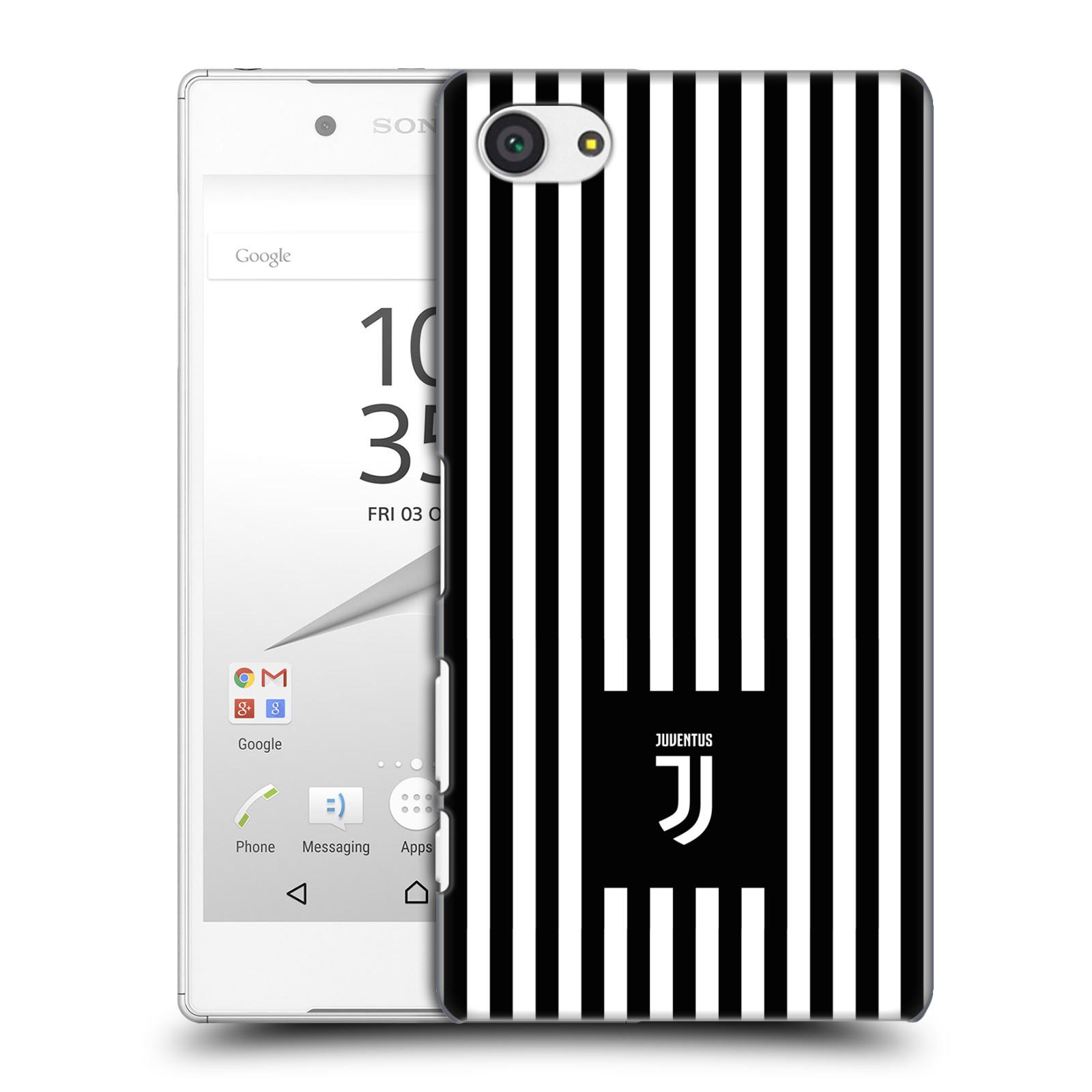 Plastové pouzdro na mobil Sony Xperia Z5 Compact - Head Case - Juventus FC - Nové logo - Pruhy