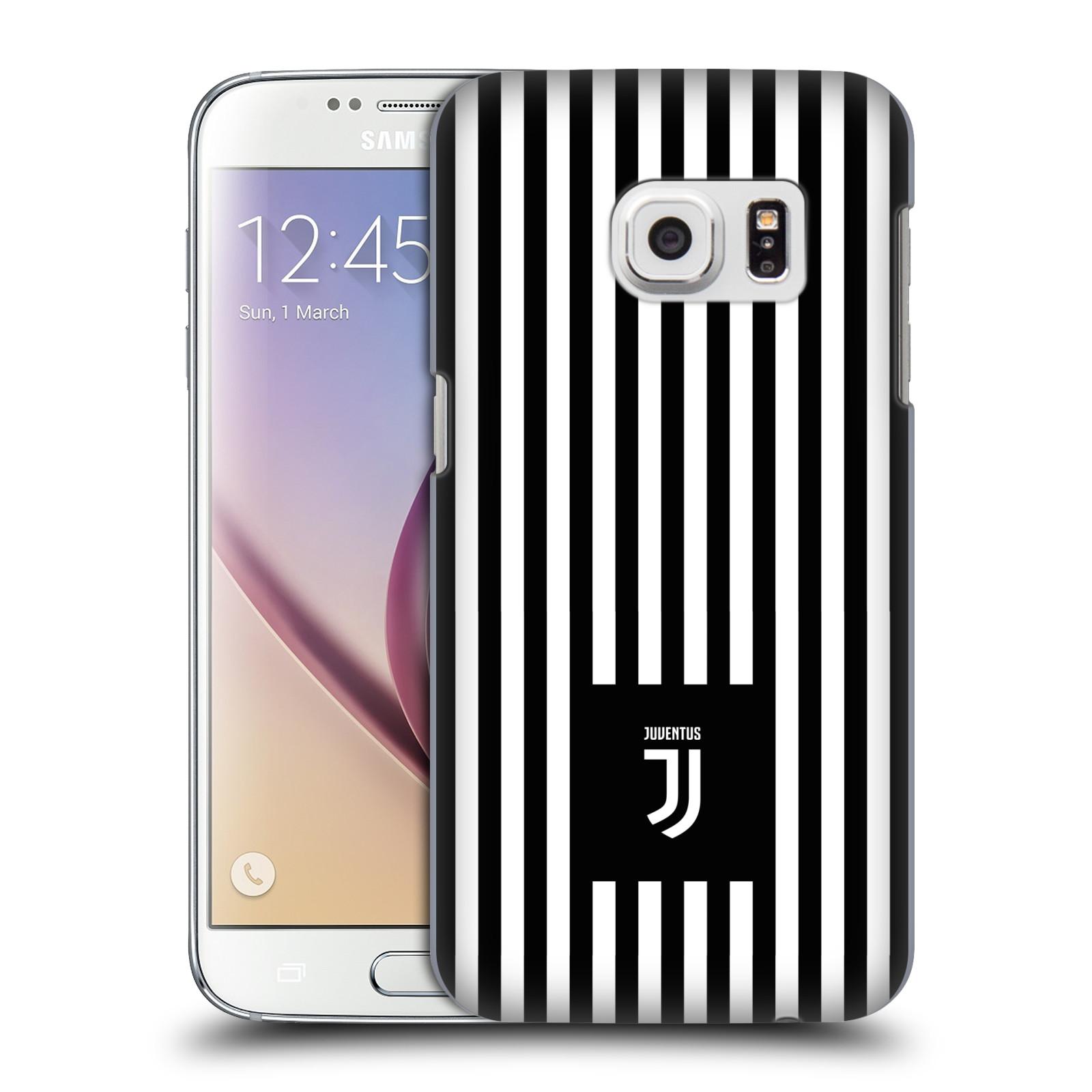 Plastové pouzdro na mobil Samsung Galaxy S7 - Head Case - Juventus FC - Nové logo - Pruhy