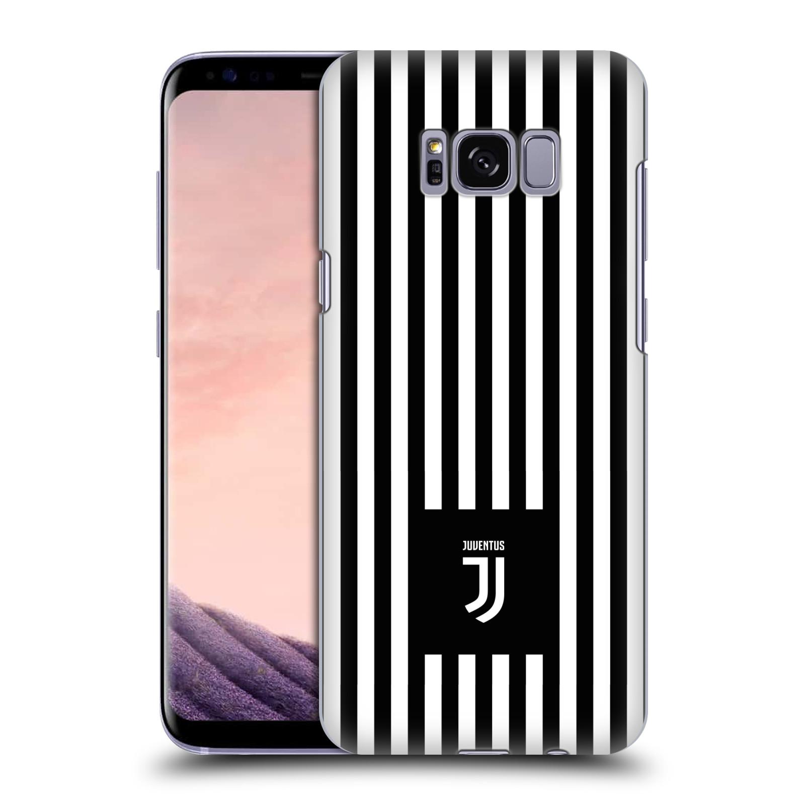 Plastové pouzdro na mobil Samsung Galaxy S8 - Head Case - Juventus FC - Nové logo - Pruhy