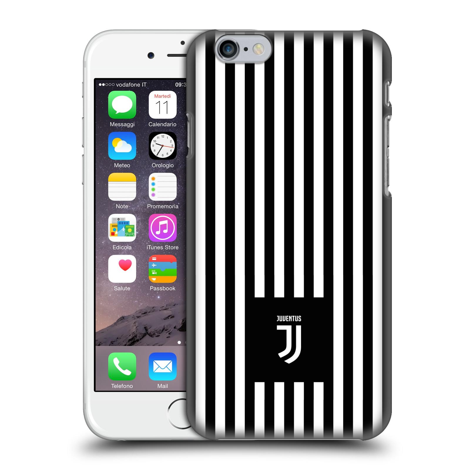 Plastové pouzdro na mobil Apple iPhone 6 - Head Case - Juventus FC - Nové logo - Pruhy