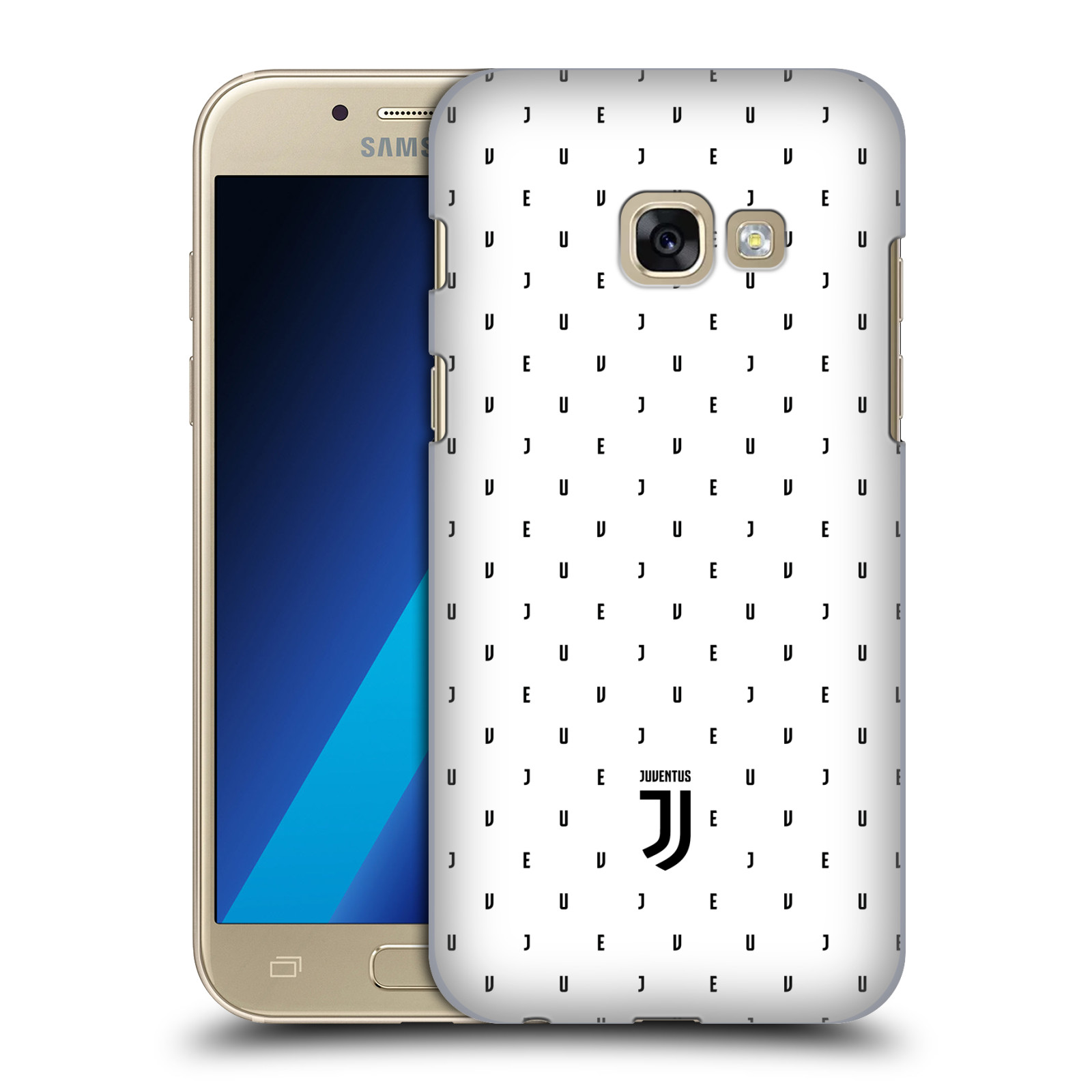 Plastové pouzdro na mobil Samsung Galaxy A3 (2017) - Head Case - Juventus FC - Nové logo - Decentní