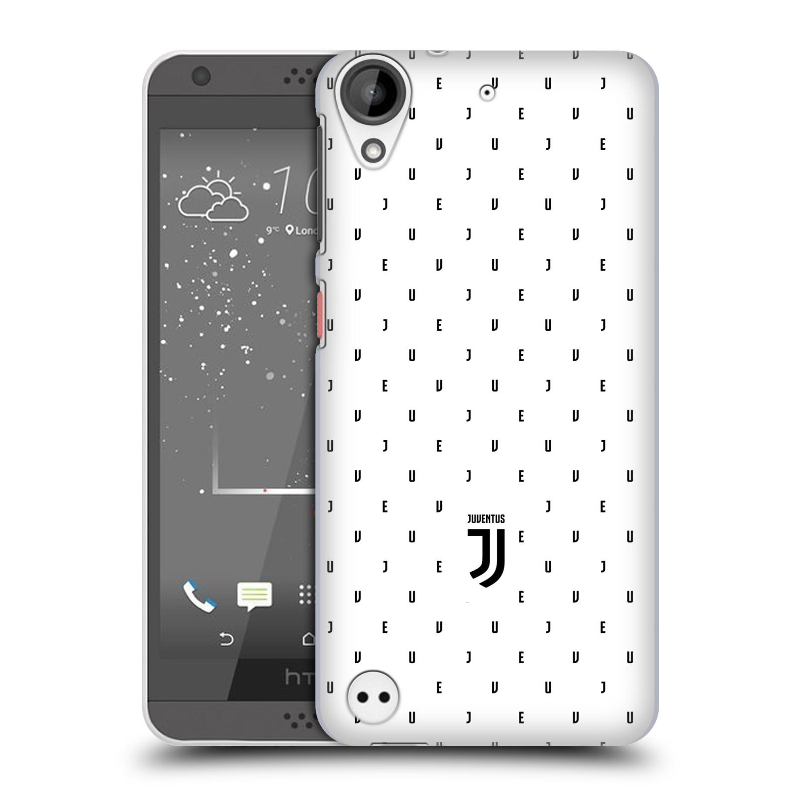 Plastové pouzdro na mobil HTC Desire 530 - Head Case - Juventus FC - Nové logo - Decentní