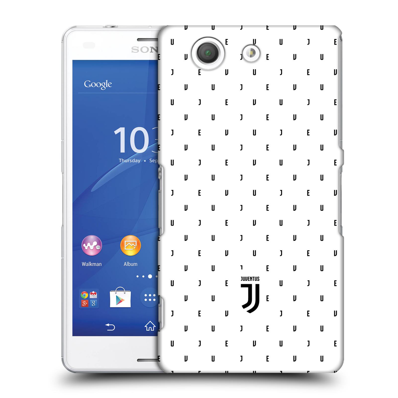 Plastové pouzdro na mobil Sony Xperia Z3 Compact D5803 - Head Case - Juventus FC - Nové logo - Decentní