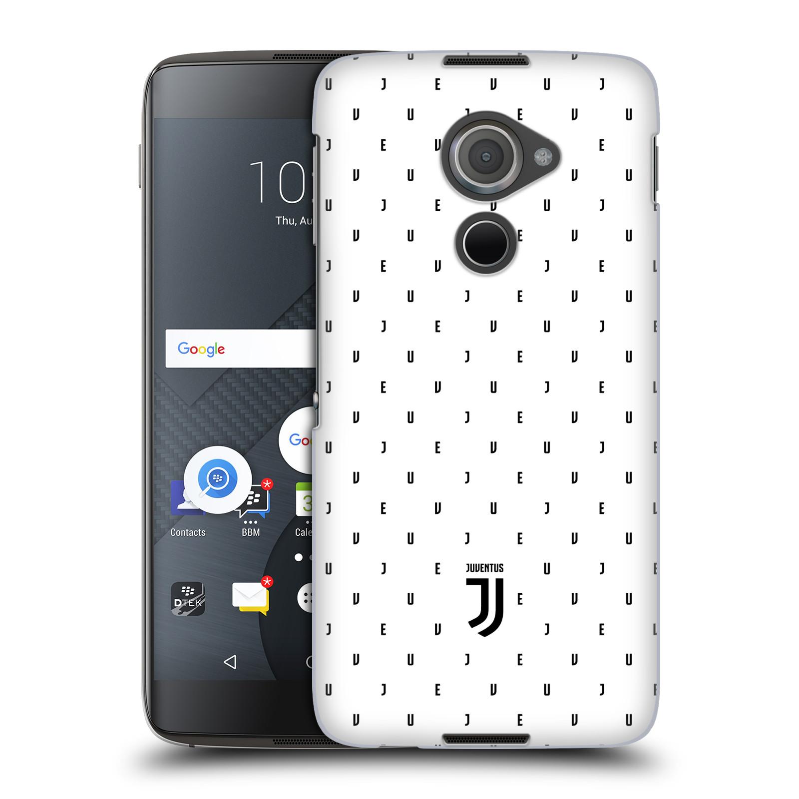 Plastové pouzdro na mobil Blackberry DTEK60 (Argon) - Head Case - Juventus FC - Nové logo - Decentní