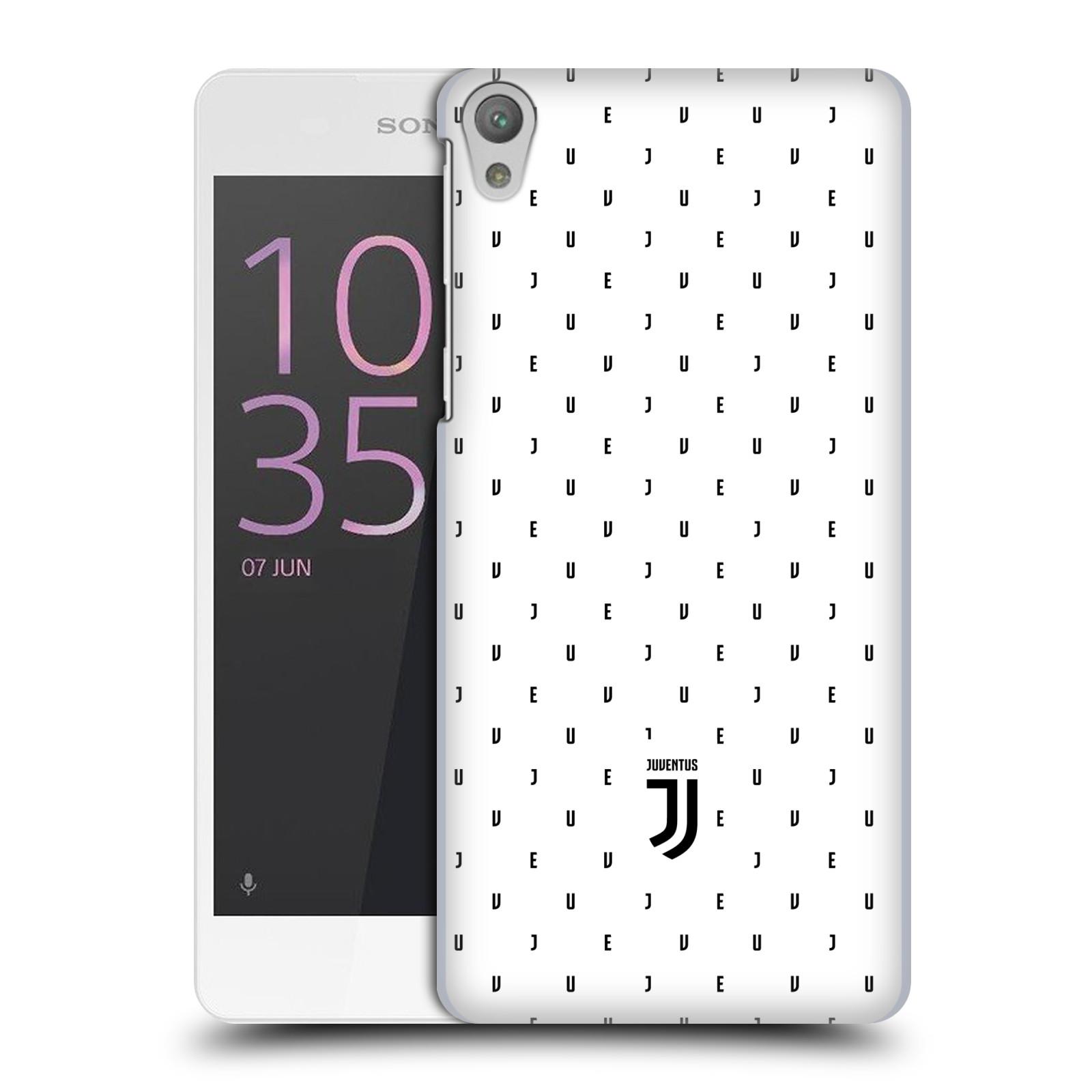 Plastové pouzdro na mobil Sony Xperia E5 - Head Case - Juventus FC - Nové logo - Decentní