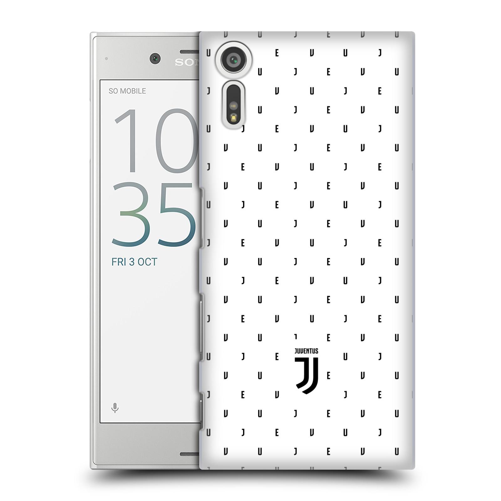 Plastové pouzdro na mobil Sony Xperia XZ - Head Case - Juventus FC - Nové logo - Decentní (Plastový kryt či obal na mobilní telefon s motivem Juventus FC - Nové logo - Decentní pro Sony Xperia XZ F8331 / Sony Xperia XZ Dual F8332)