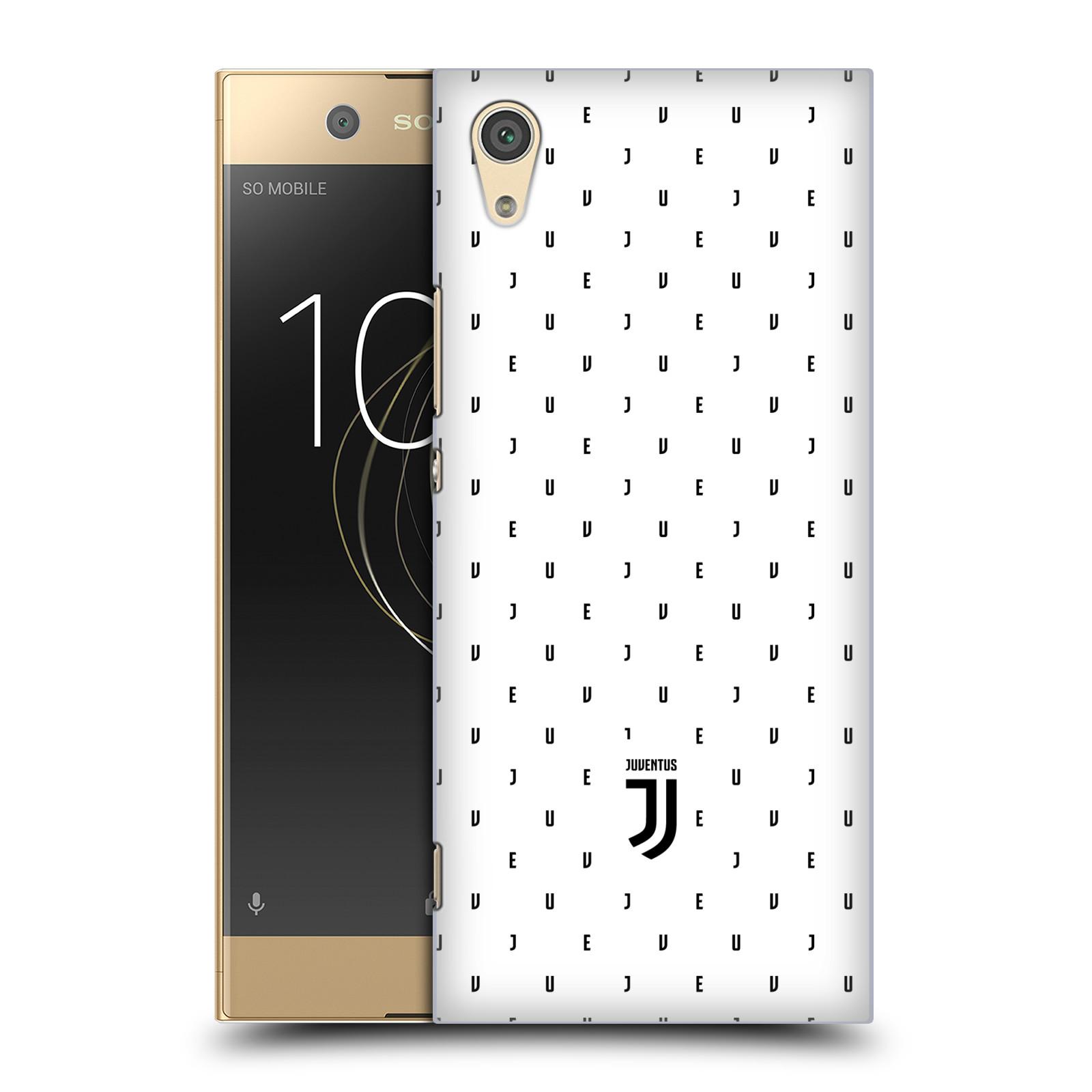 Plastové pouzdro na mobil Sony Xperia XA1 - Head Case - Juventus FC - Nové logo - Decentní