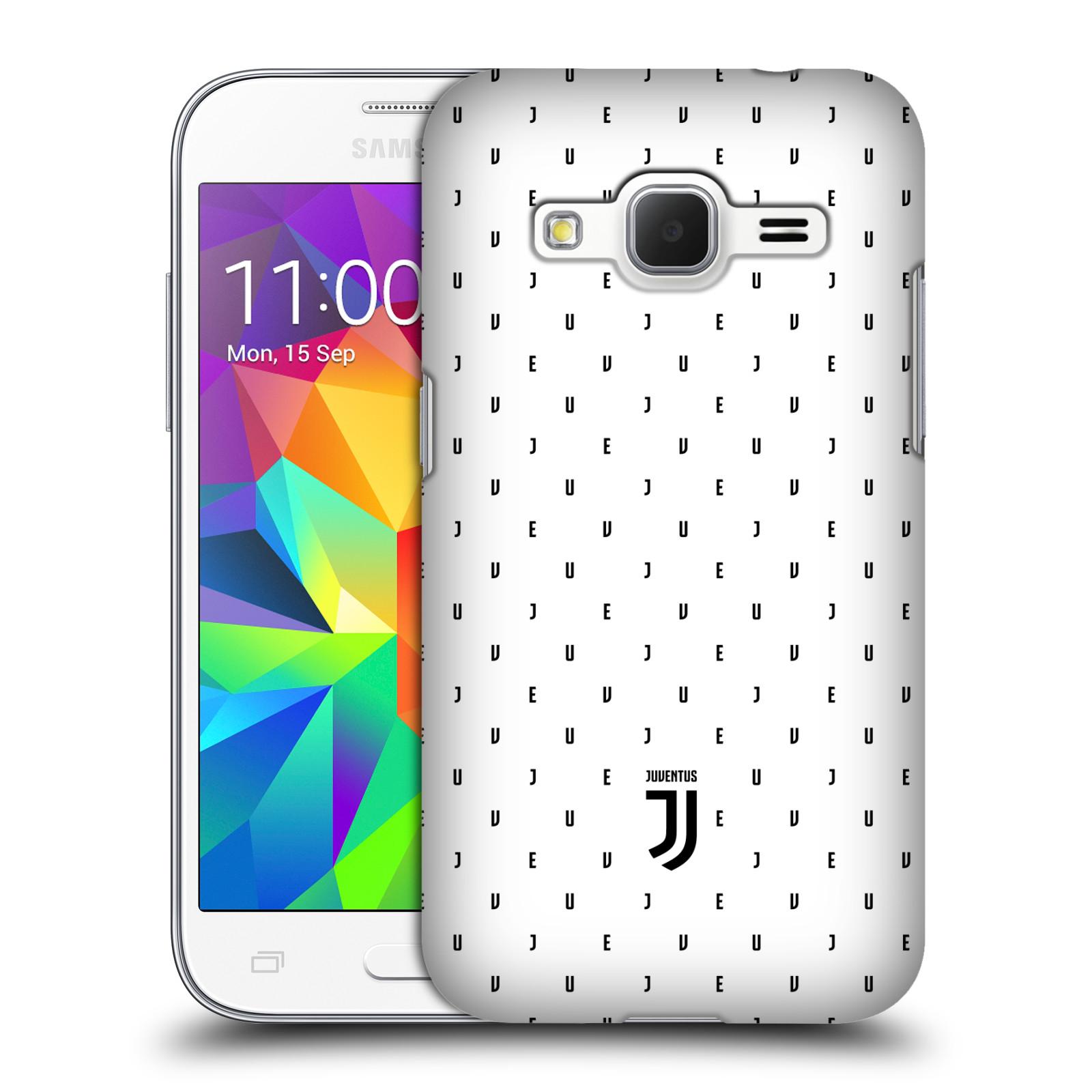Plastové pouzdro na mobil Samsung Galaxy Core Prime VE - Head Case - Juventus FC - Nové logo - Decentní