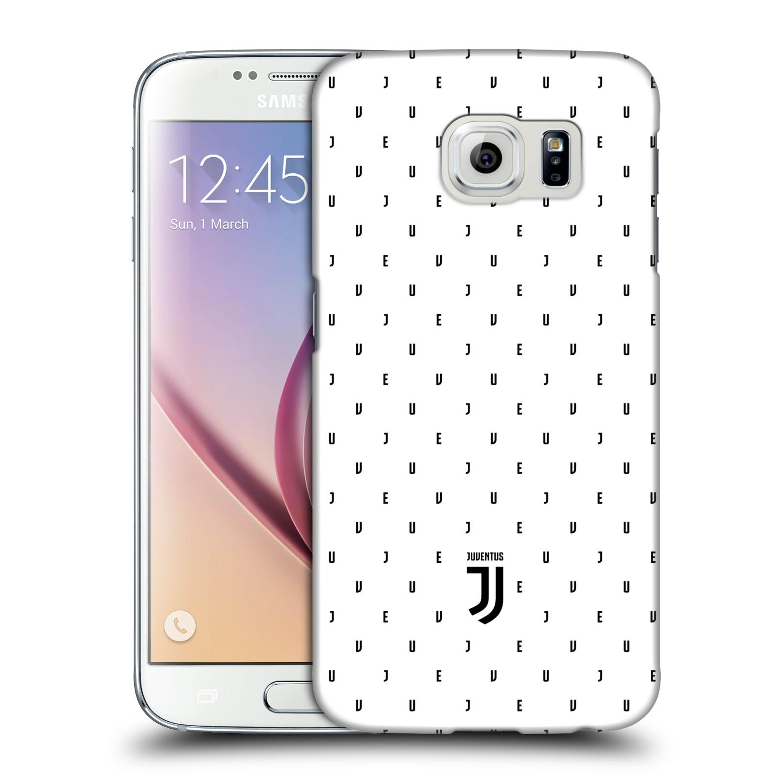 Plastové pouzdro na mobil Samsung Galaxy S6 - Head Case - Juventus FC - Nové logo - Decentní