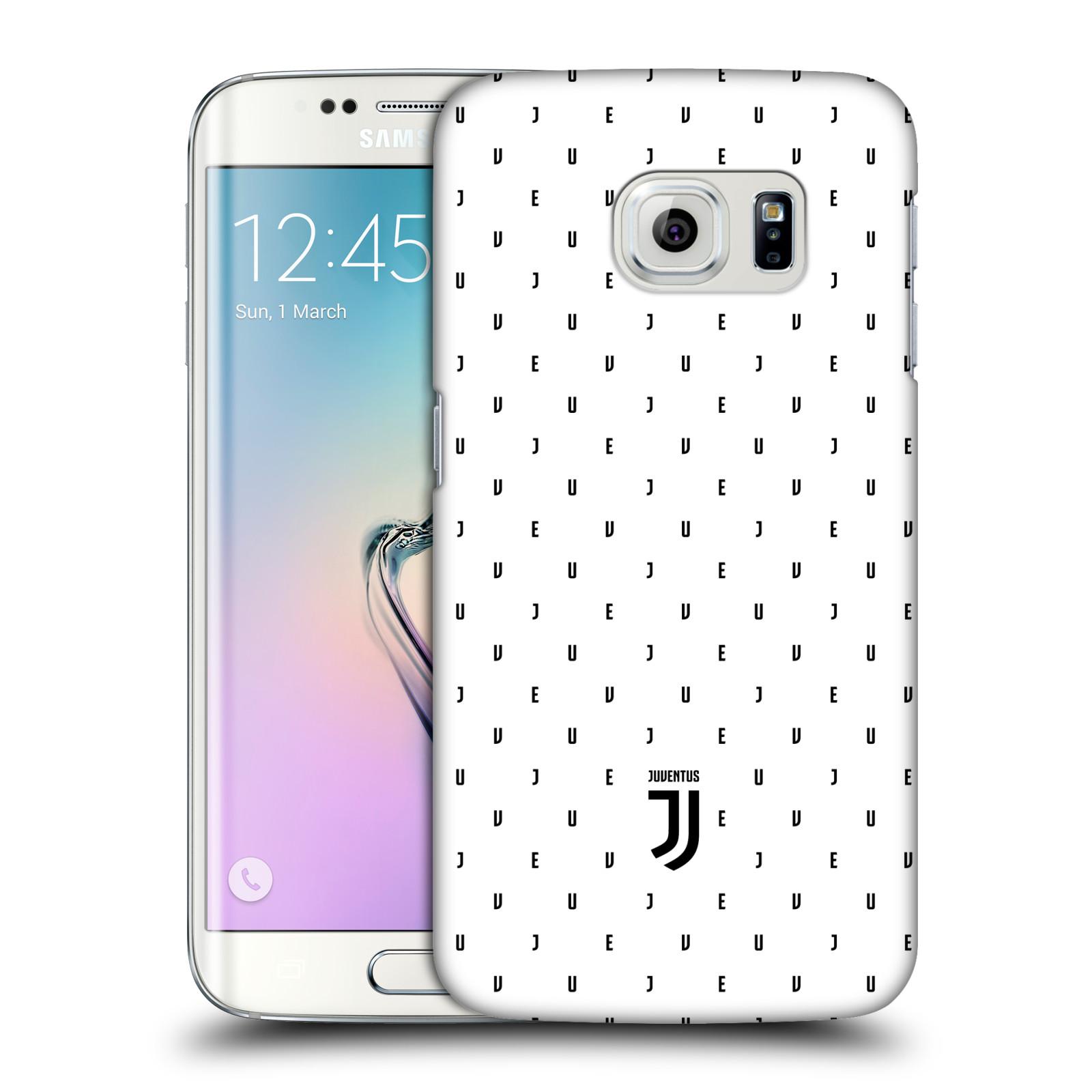 Plastové pouzdro na mobil Samsung Galaxy S6 Edge - Head Case - Juventus FC - Nové logo - Decentní