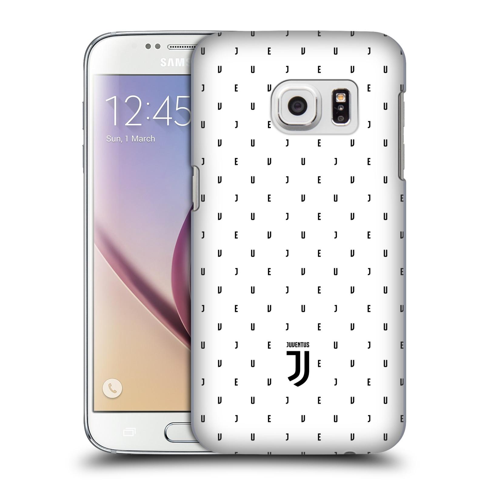 Plastové pouzdro na mobil Samsung Galaxy S7 - Head Case - Juventus FC - Nové logo - Decentní