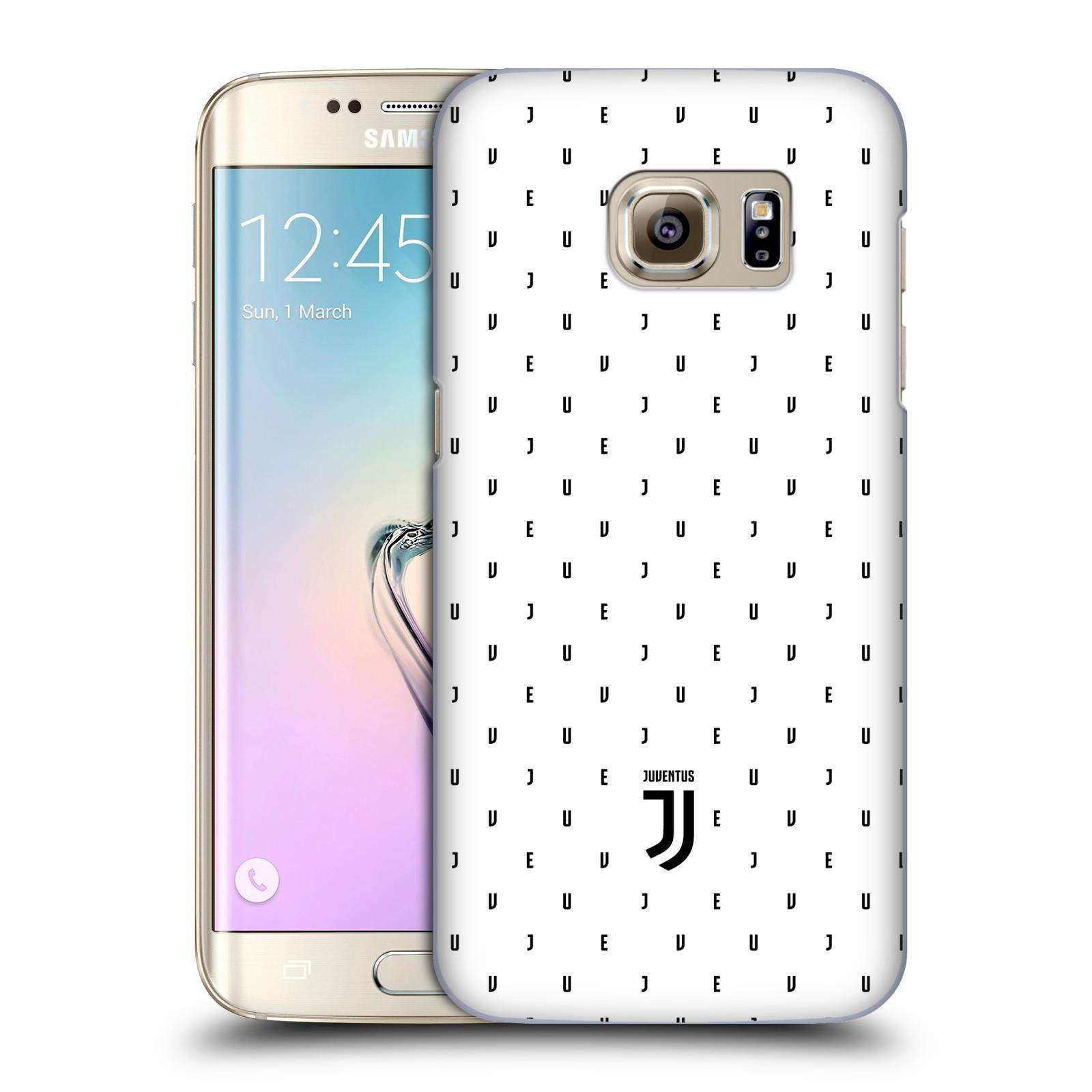 Plastové pouzdro na mobil Samsung Galaxy S7 Edge - Head Case - Juventus FC - Nové logo - Decentní