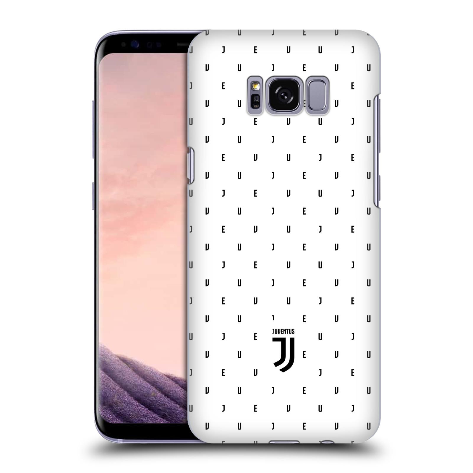 Plastové pouzdro na mobil Samsung Galaxy S8 - Head Case - Juventus FC - Nové logo - Decentní