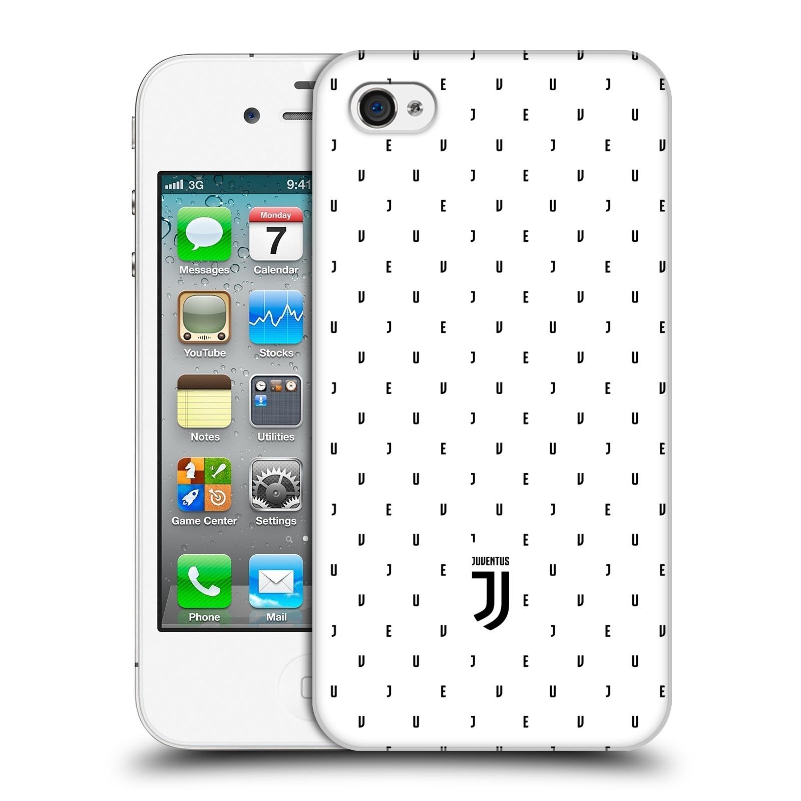 Plastové pouzdro na mobil Apple iPhone 4 a 4S - Head Case - Juventus FC - Nové logo - Decentní