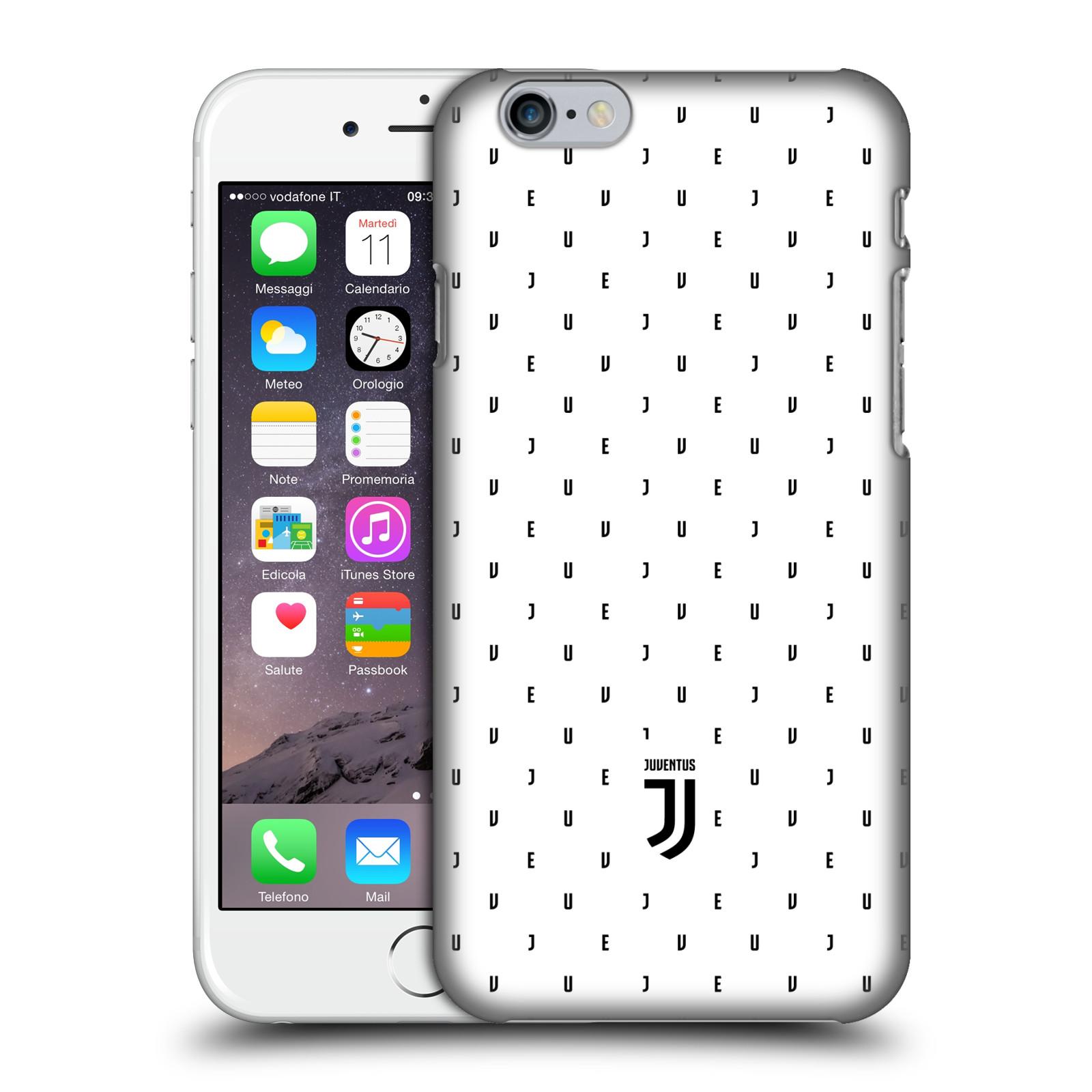 Plastové pouzdro na mobil Apple iPhone 6 - Head Case - Juventus FC - Nové logo - Decentní